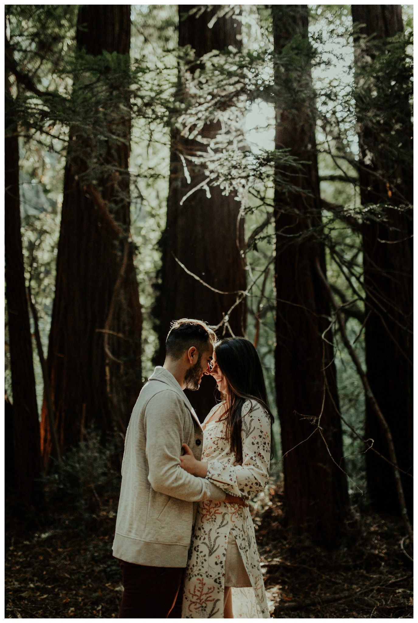 San Francisco - Muir Woods - China Beach Engagement Session -2005.jpg