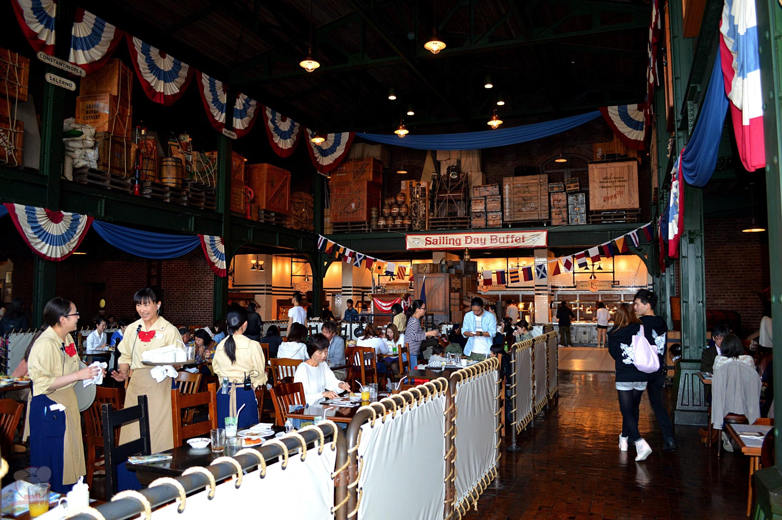 Inside Sailing Day Buffet