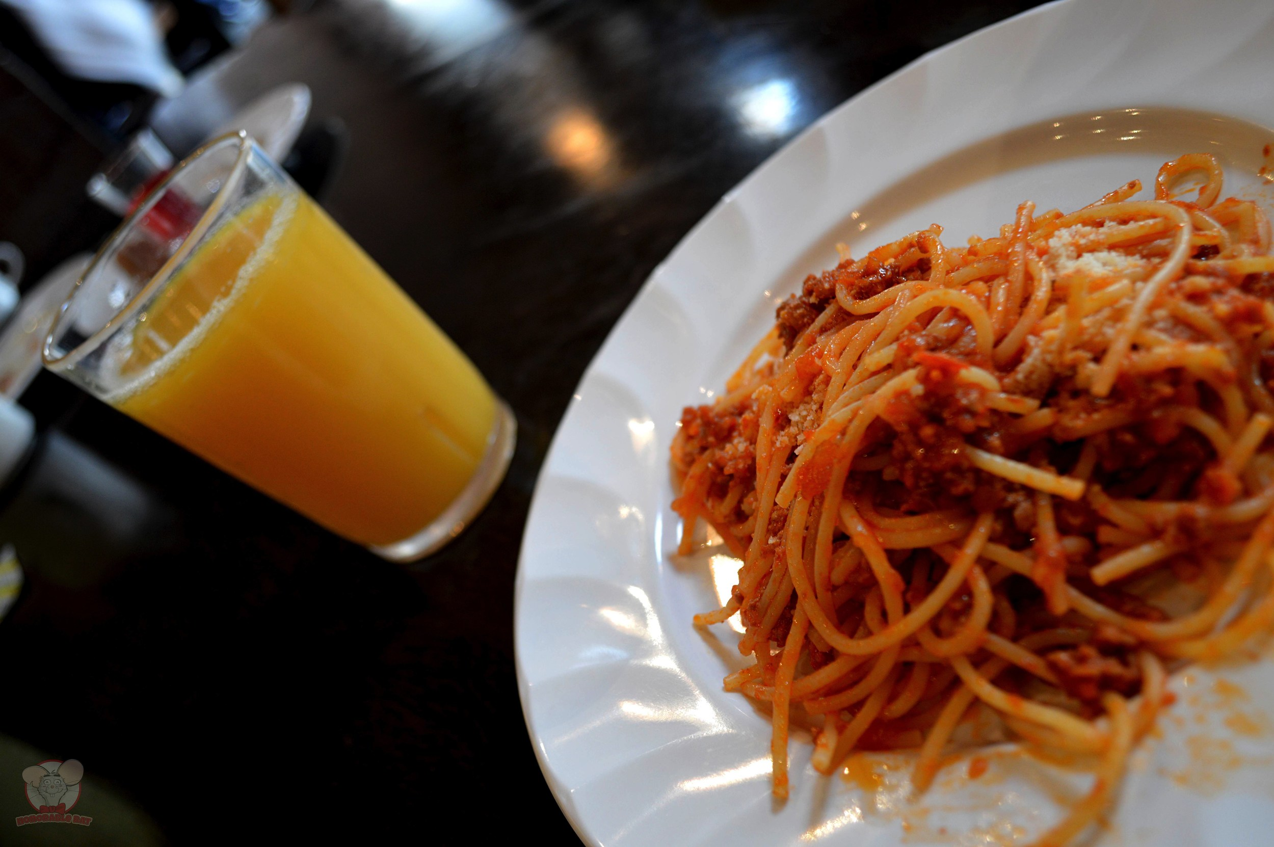 Chef`s Special Pasta with OJ