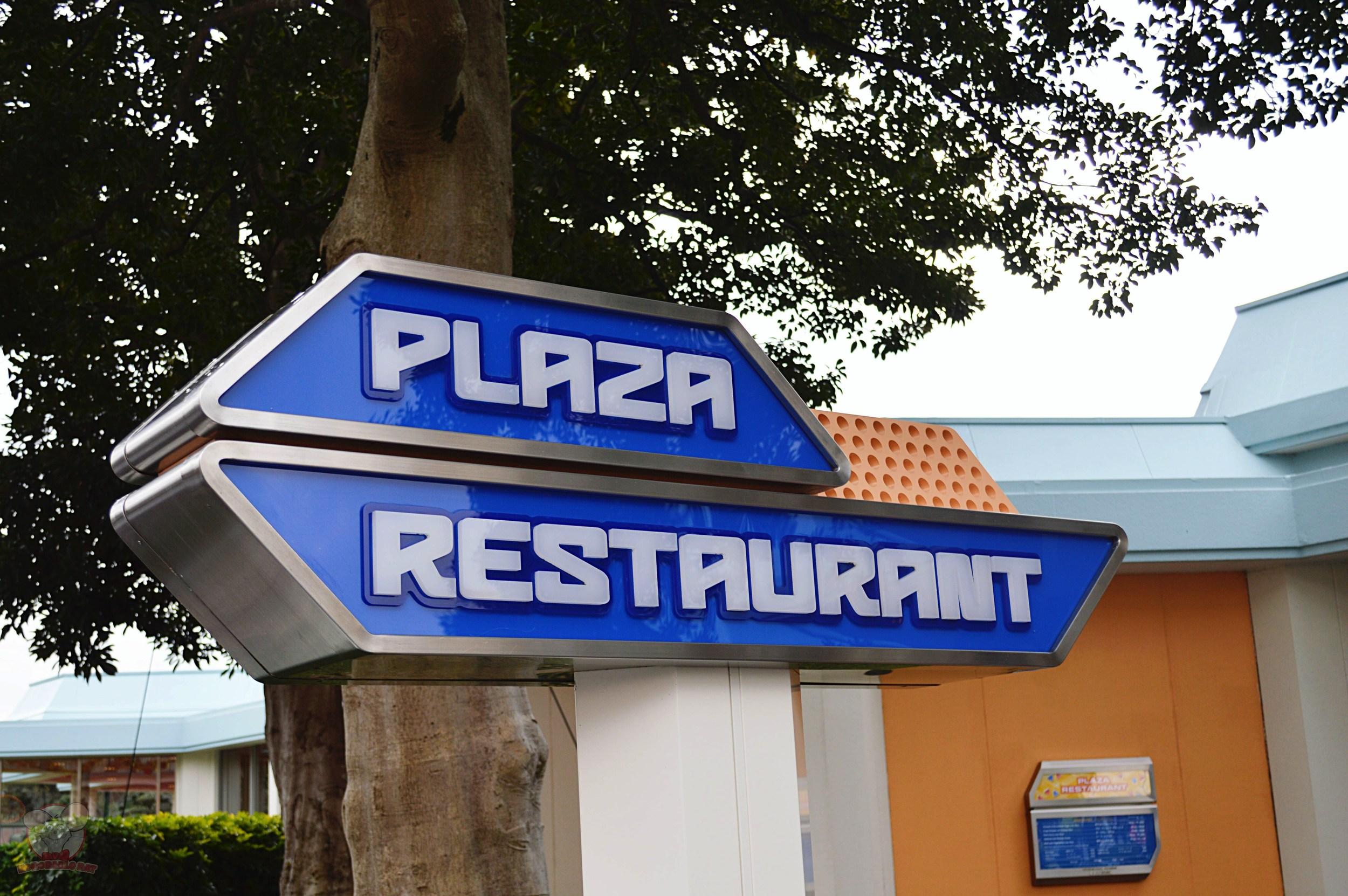 Plaza Restaurant Signage