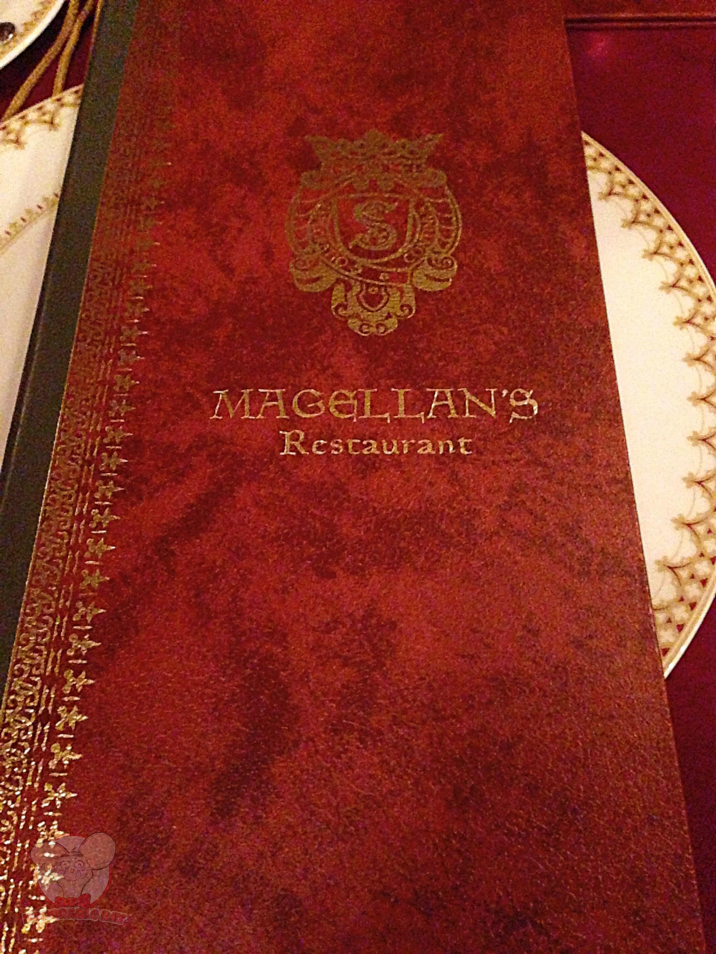 Magellan's menu