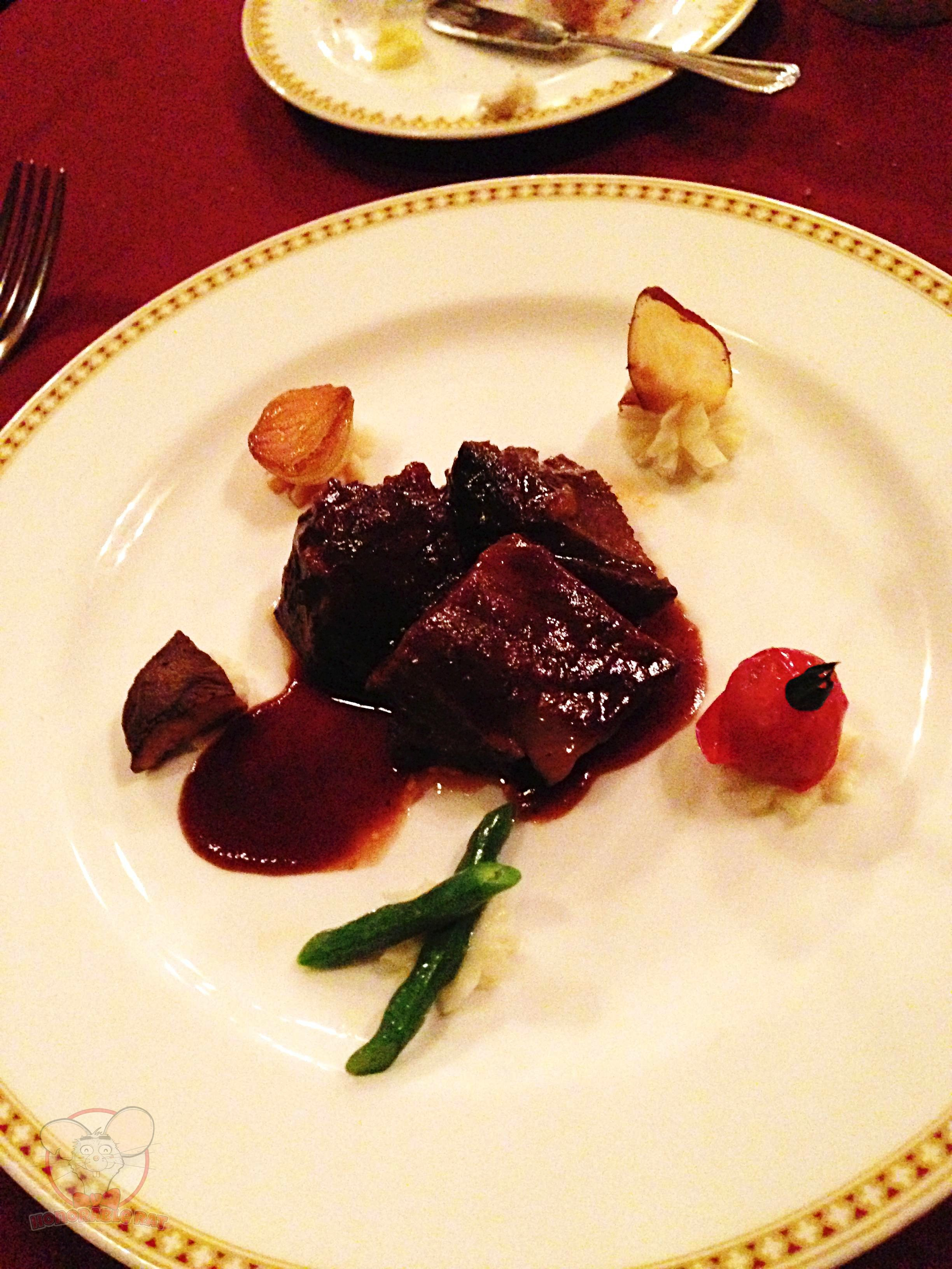 Red Wine Braised Beef Cheek