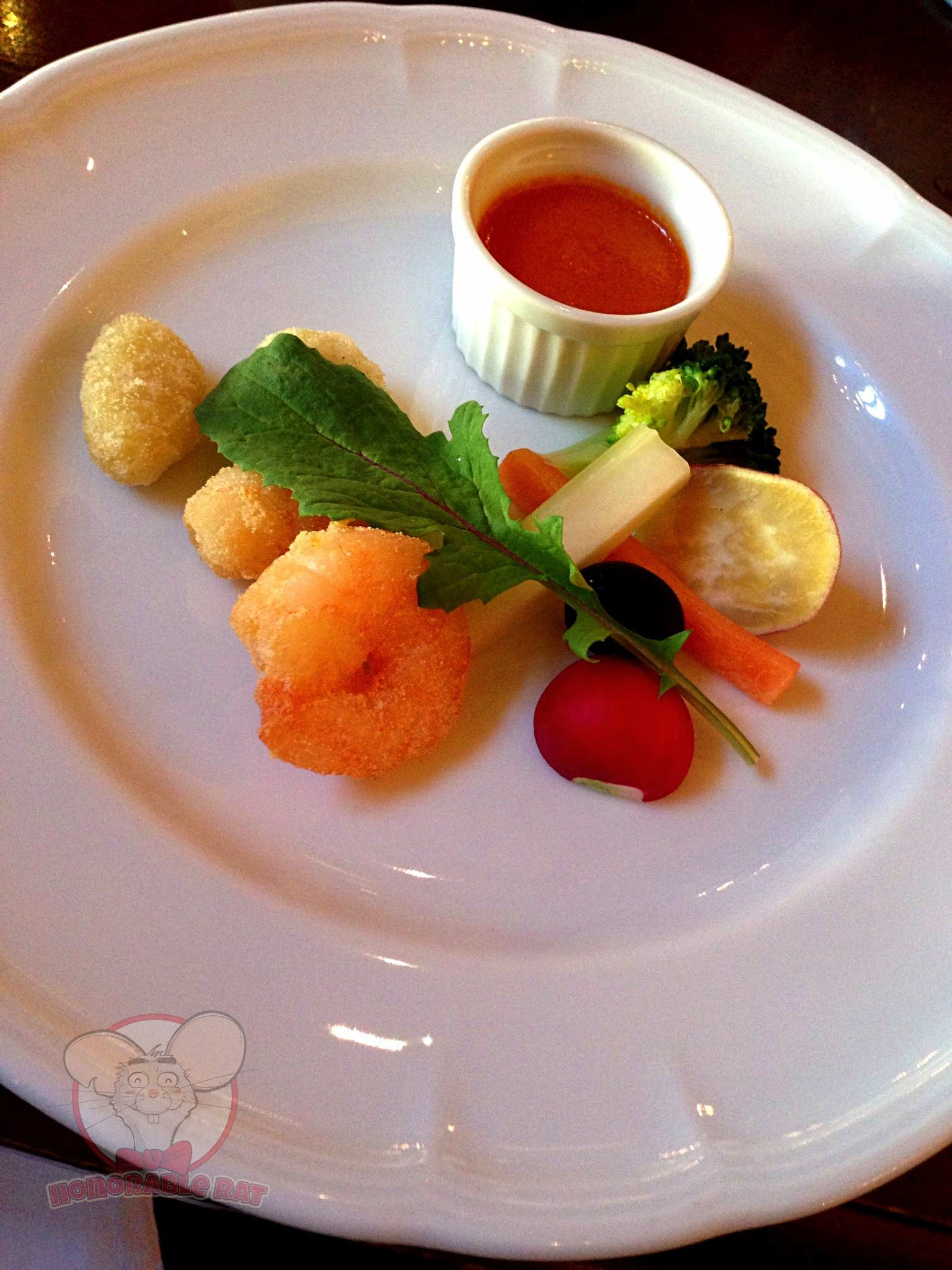 Shrimp and Gnocchi Fritto