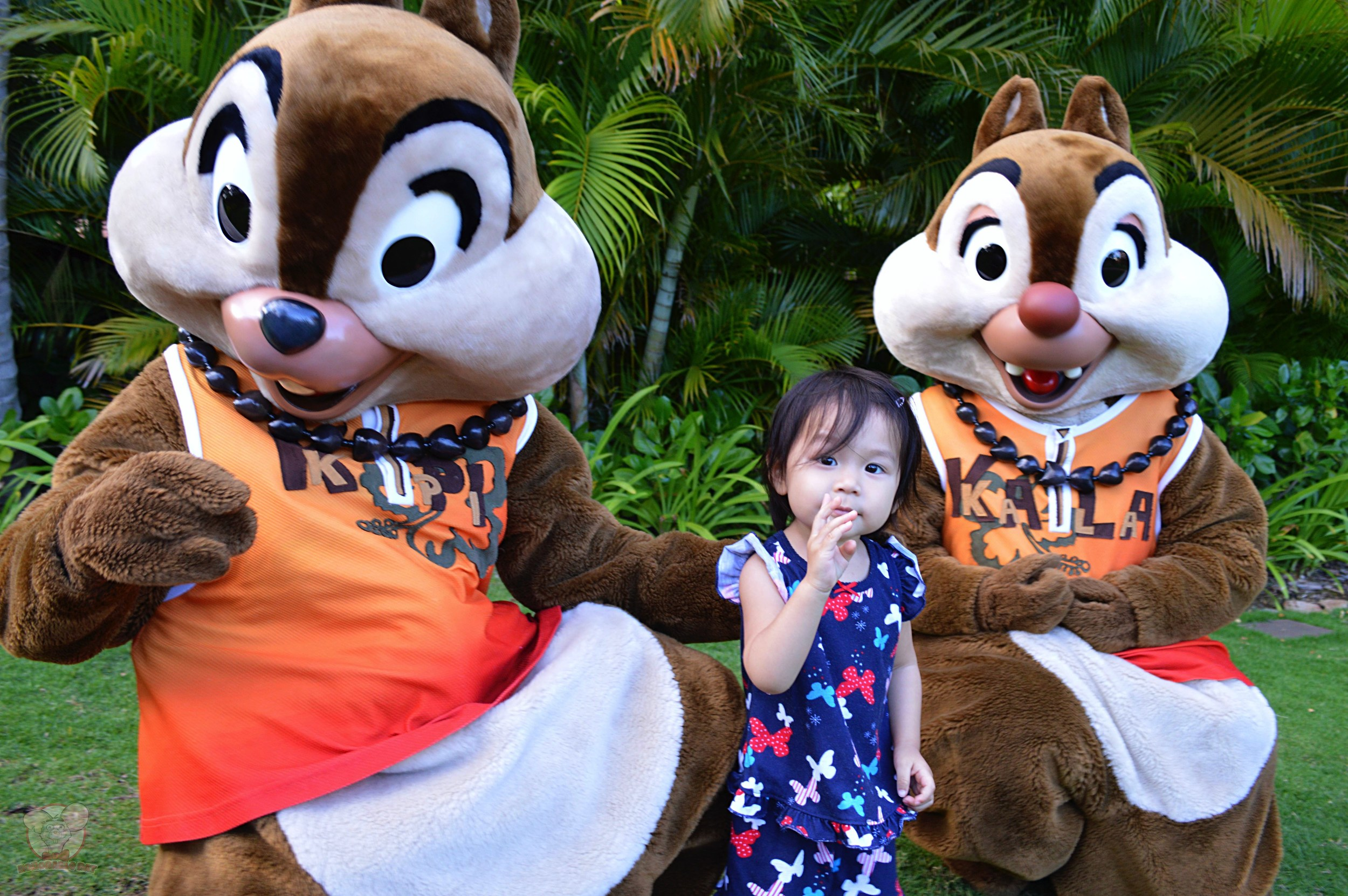 Hanging with Chip & Dale