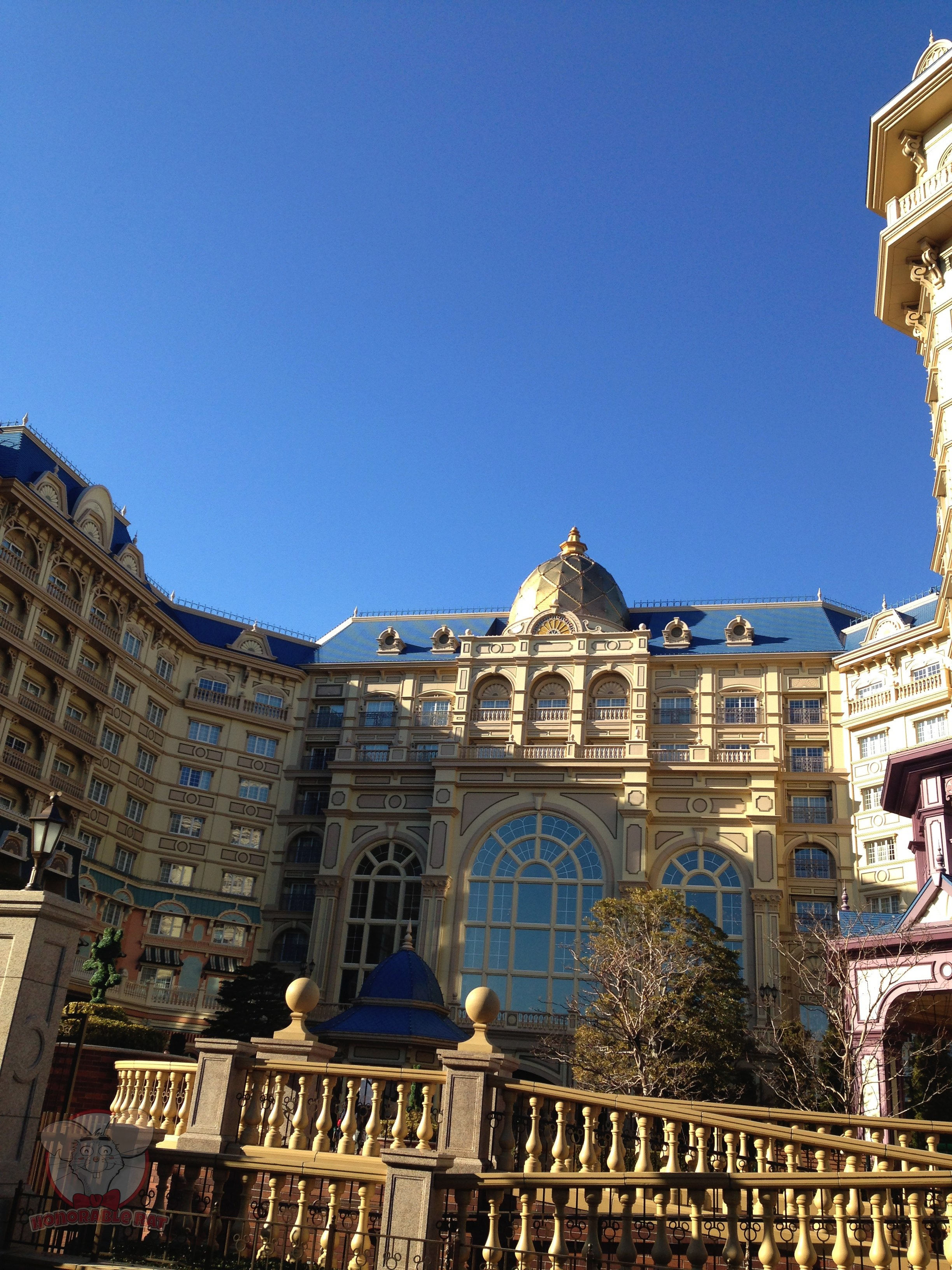 Tokyo Disneyland Hotel from the front