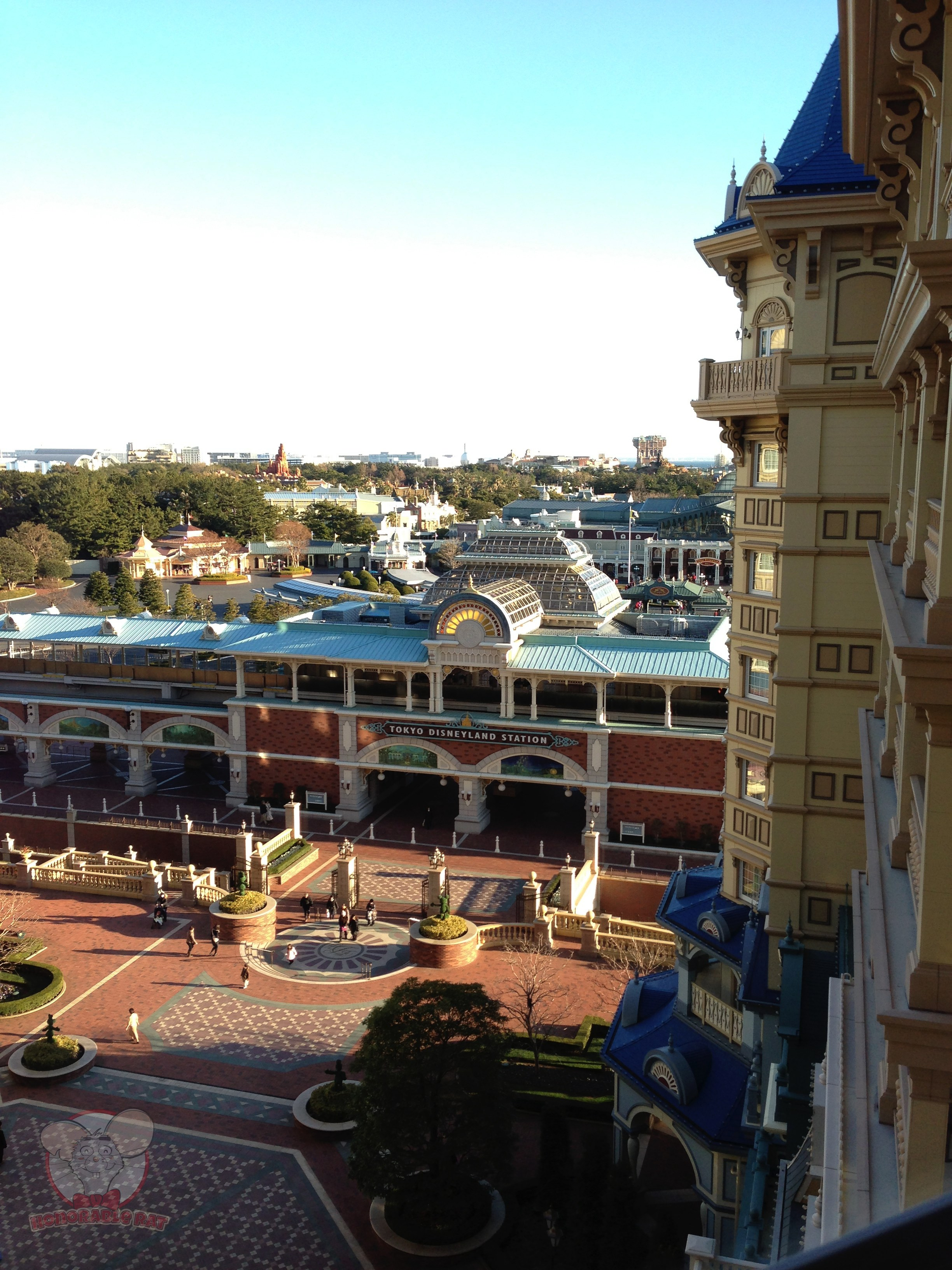 View of TDL from our room