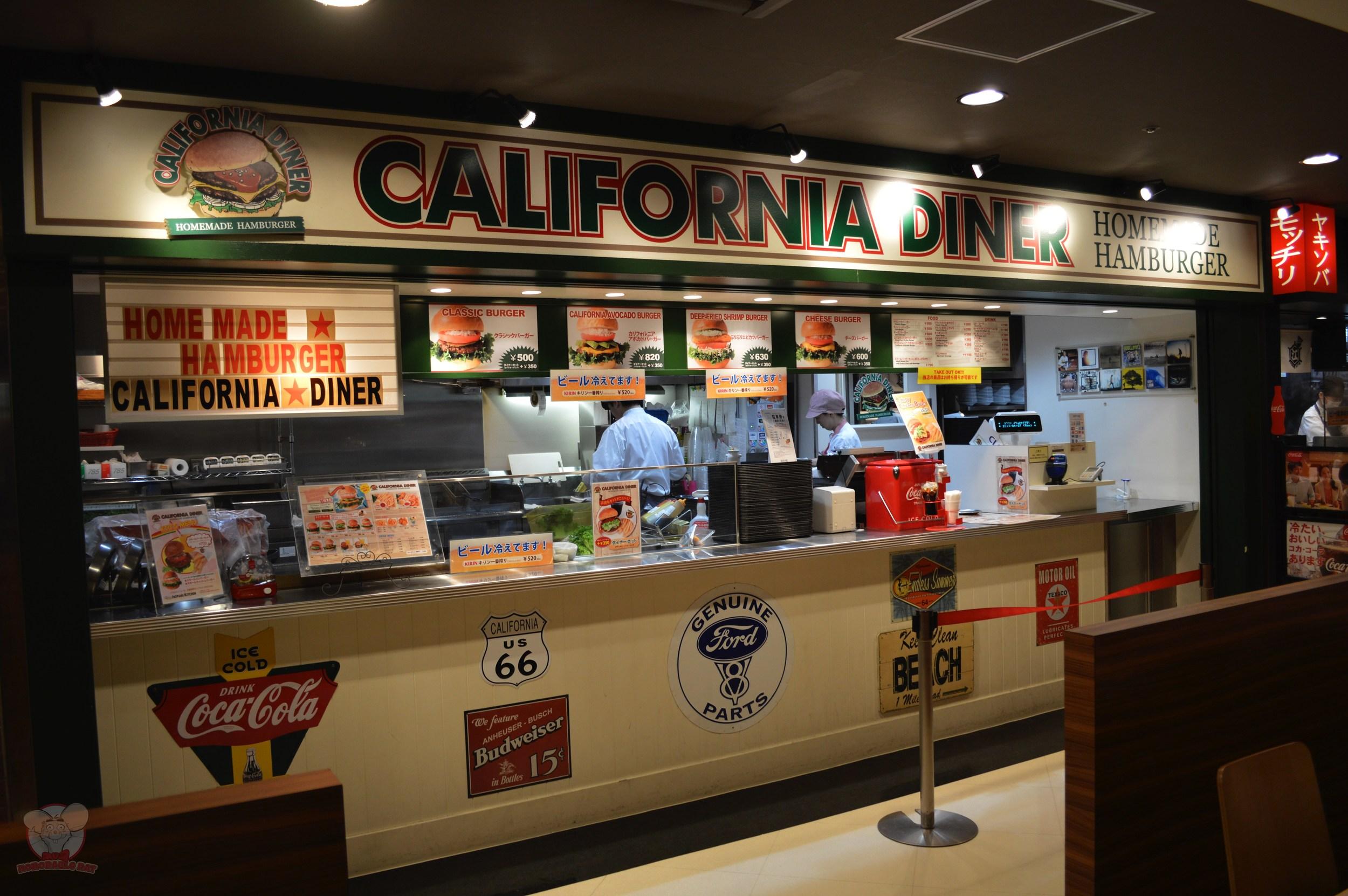 California Diner (American: Burgers)