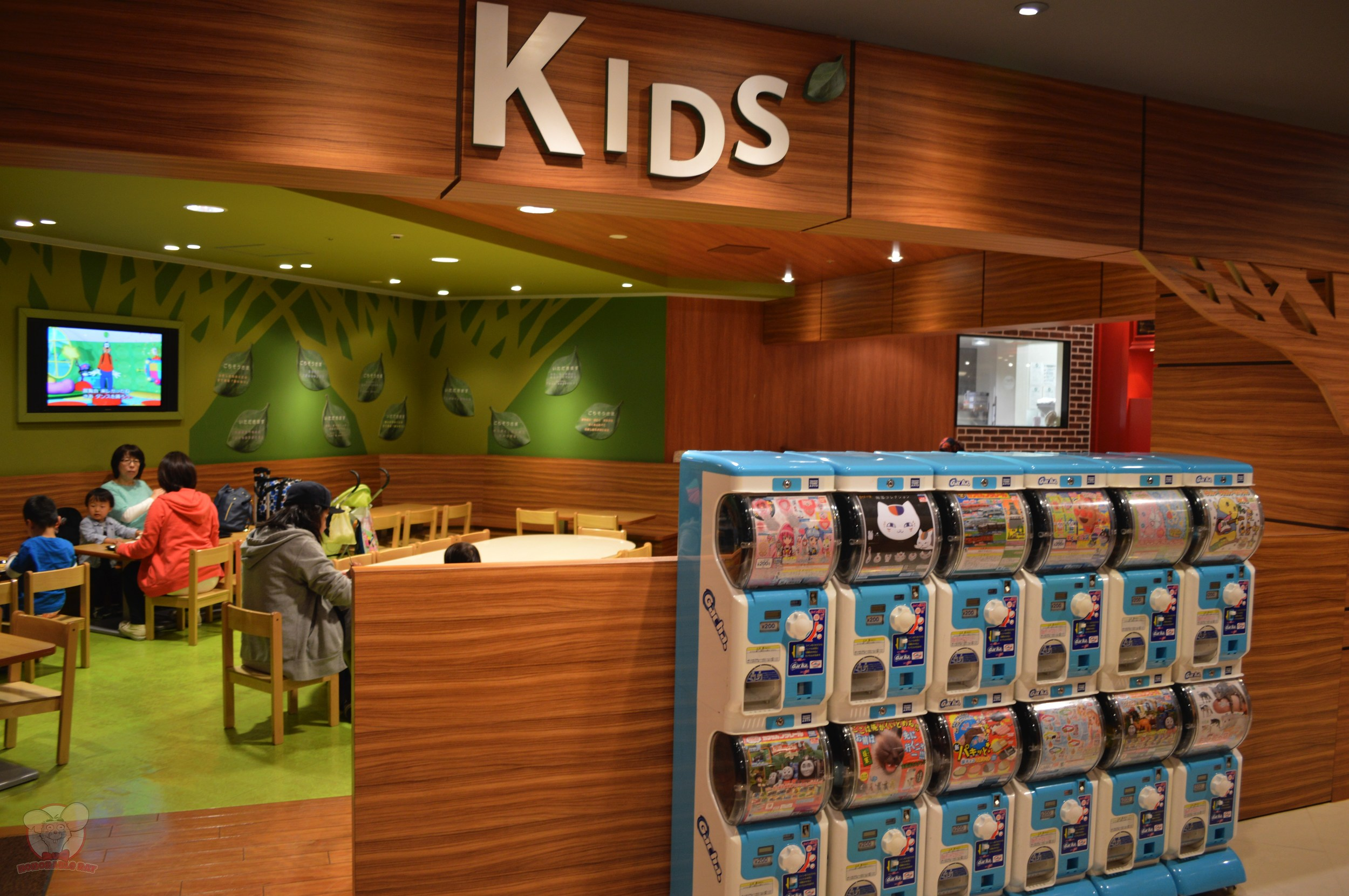 Kids area in Ikspiari Kitchen
