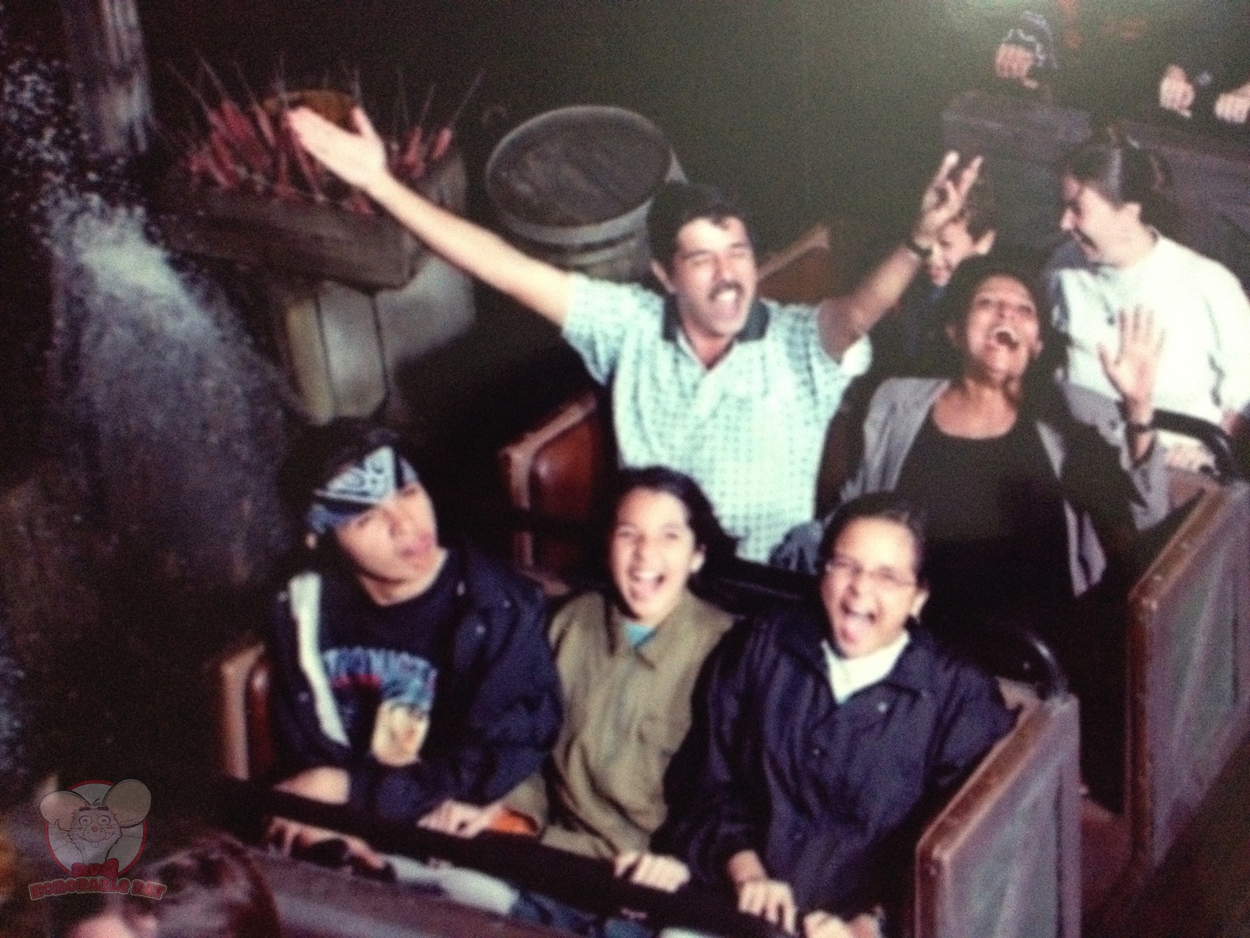 Big Thunder Mountain Railroad with my family