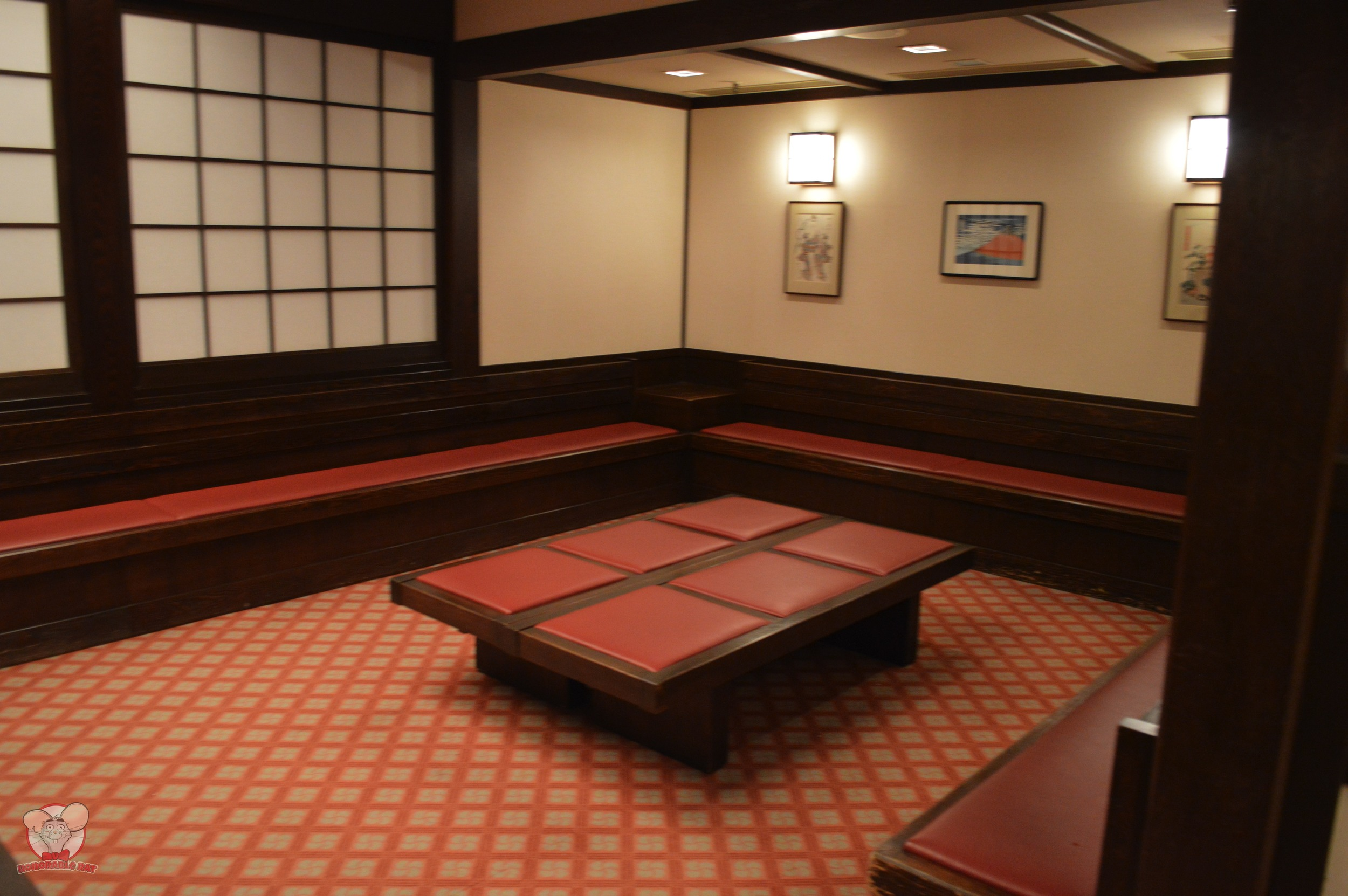 Restaurant Hokusai Waiting Area