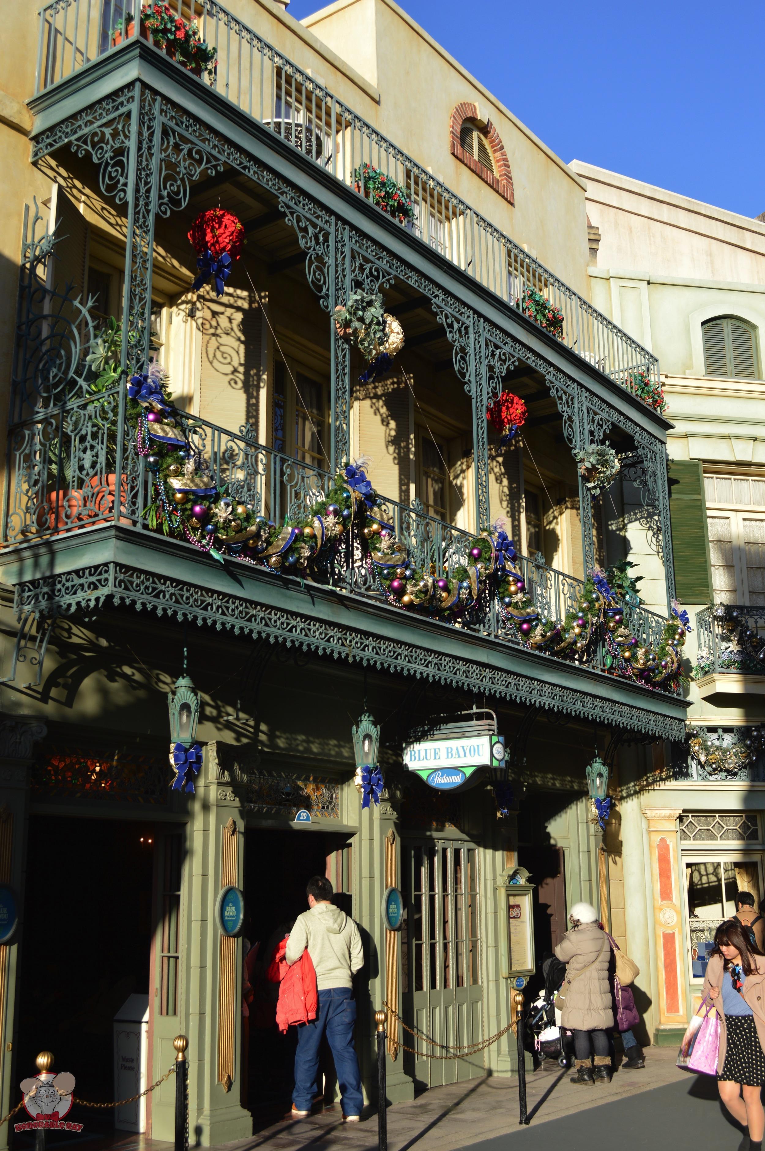 Blue Bayou Exterior