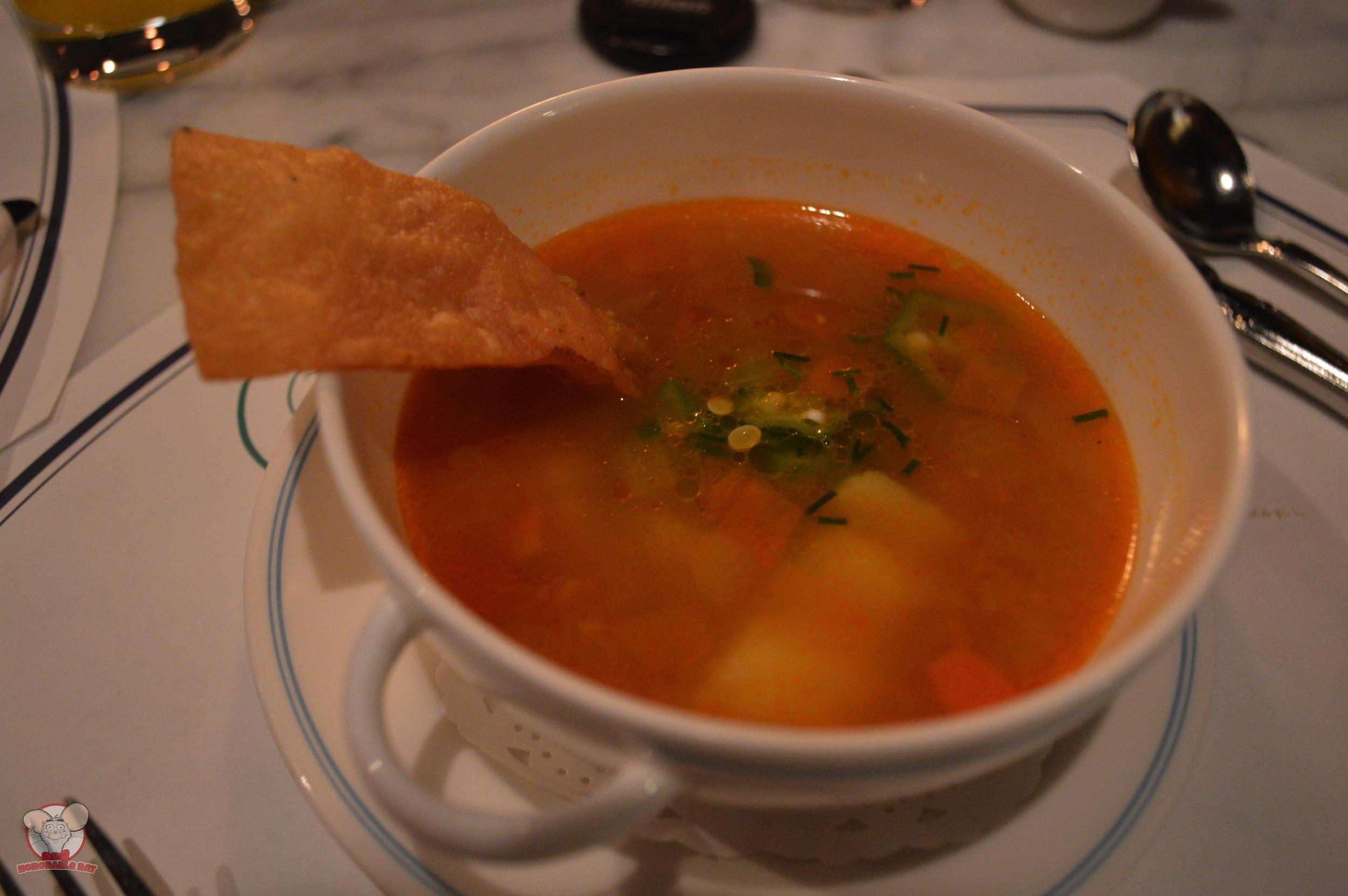 Seafood In Saffron Tomato Soup (Christmas Fantasy 2014 Special Course)