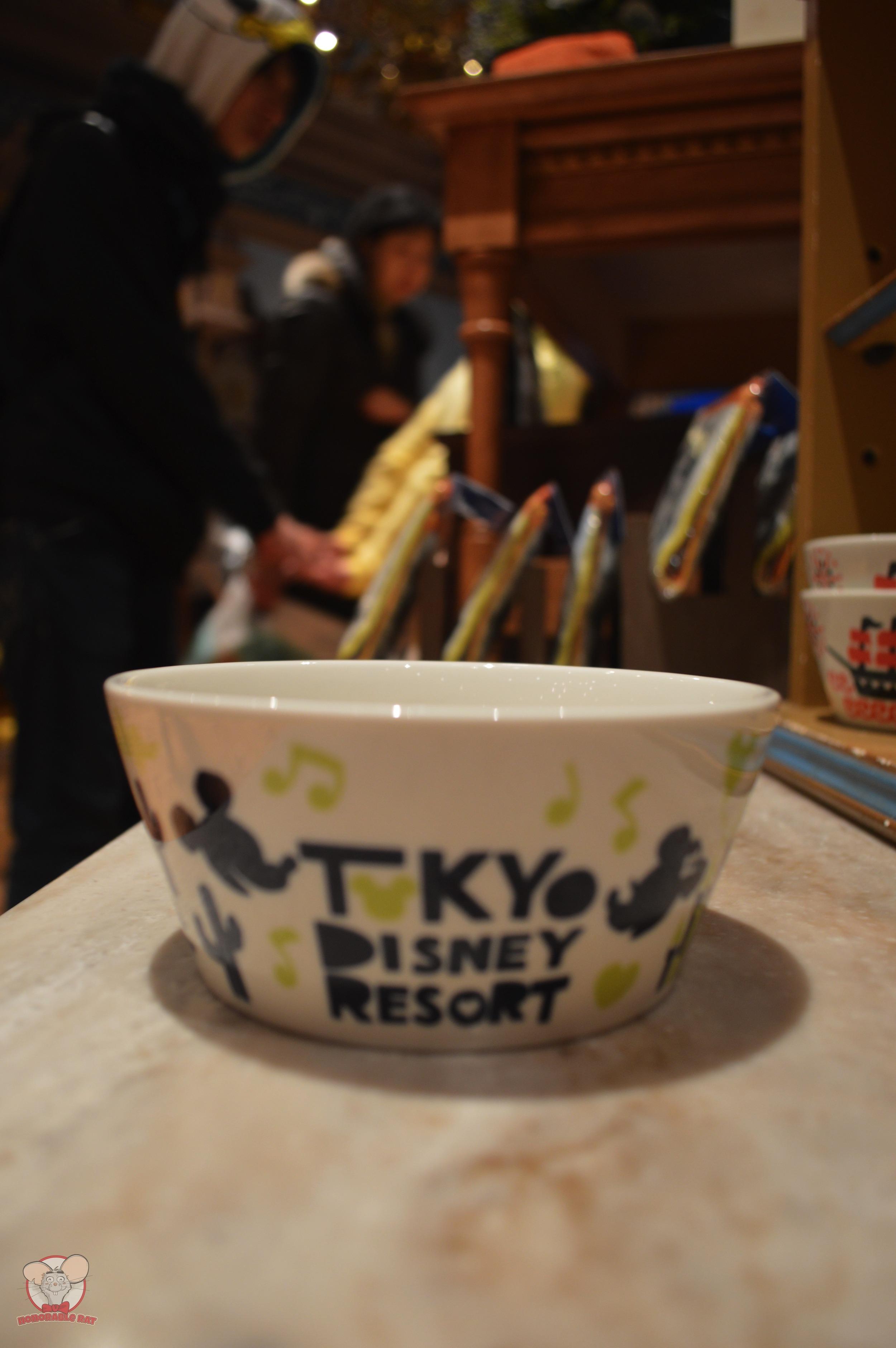Tokyo Disney Resort Green Bowl (Front): 1,000 yen