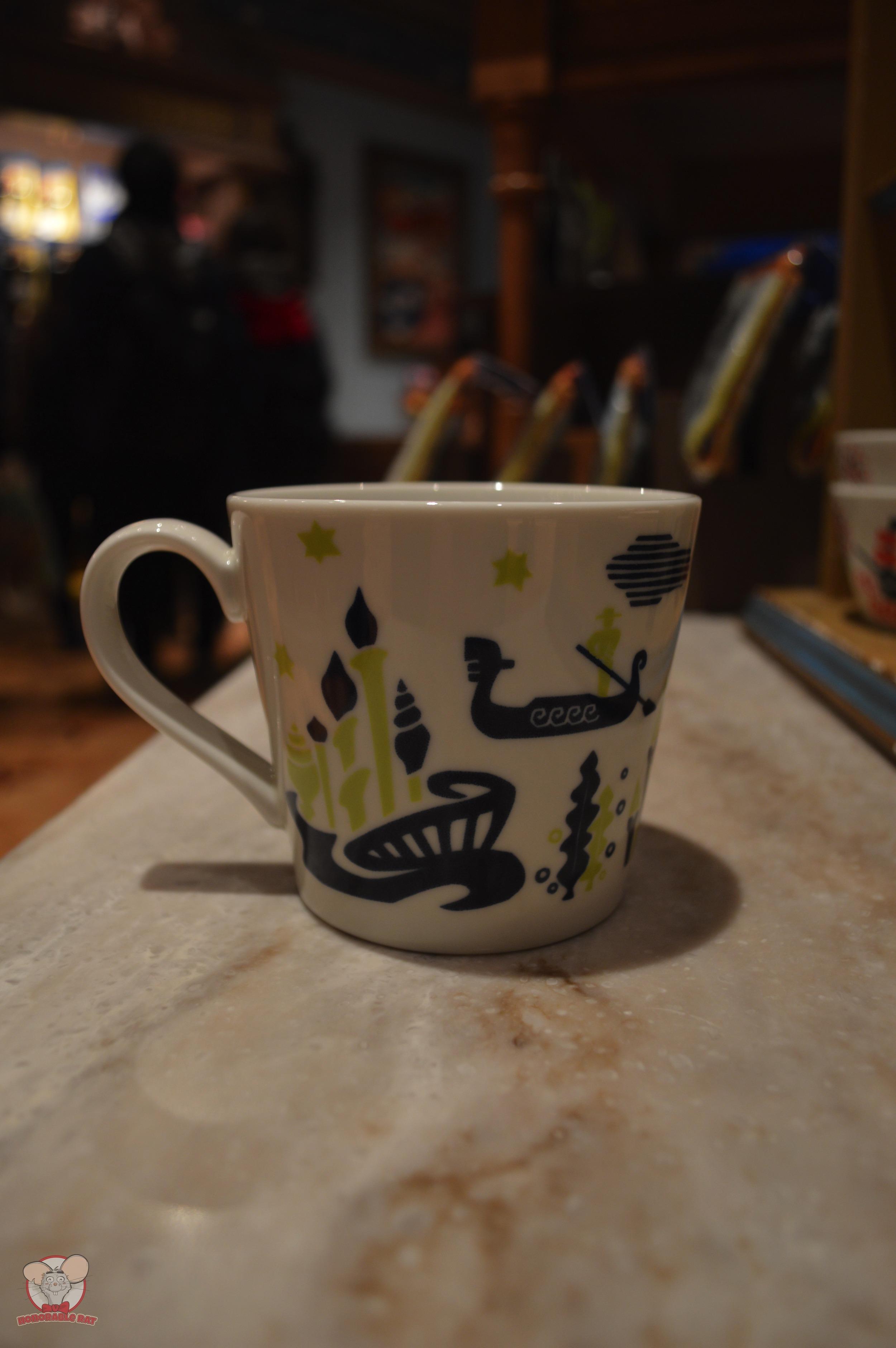 Tokyo Disney Resort Green Mug (Back)