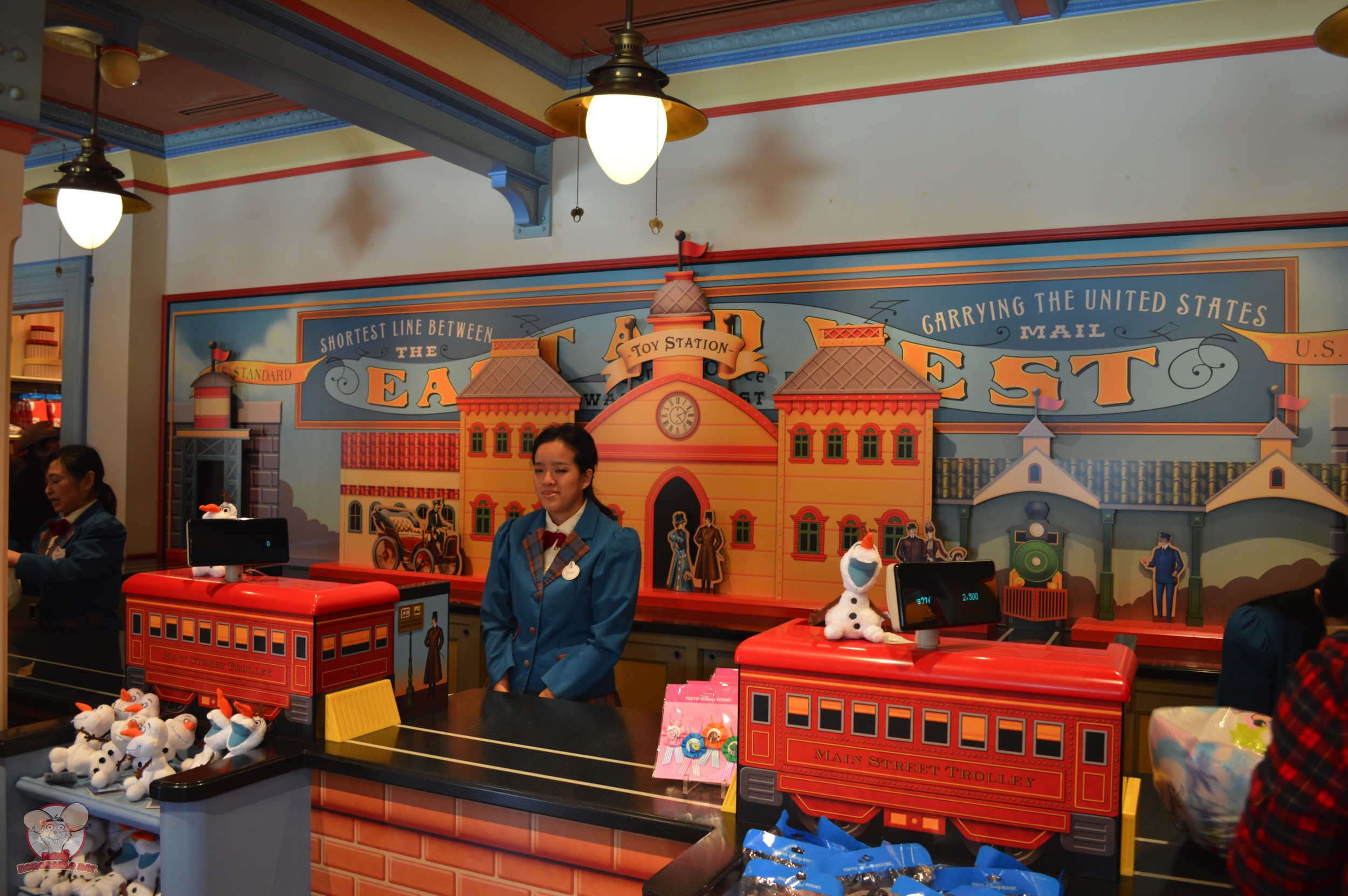 Check out counter at Toy Station
