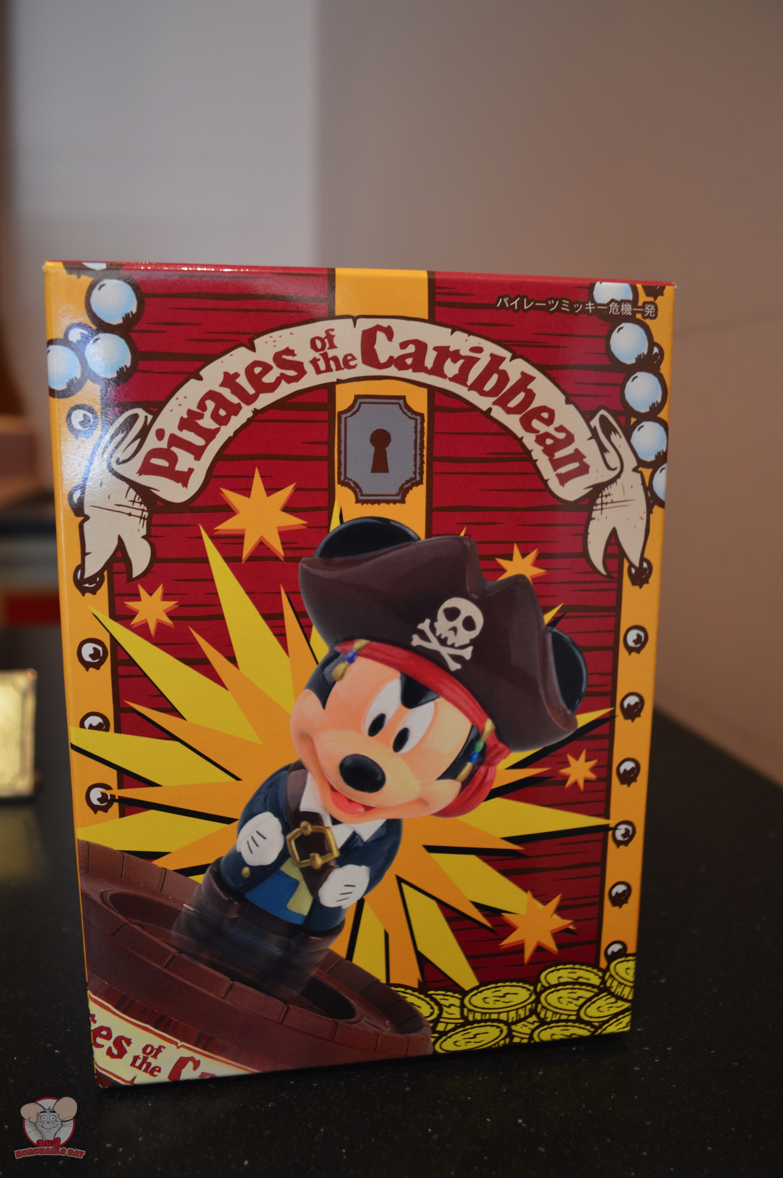 Pirates of The Caribbean Toy (Front): 1,680 yen