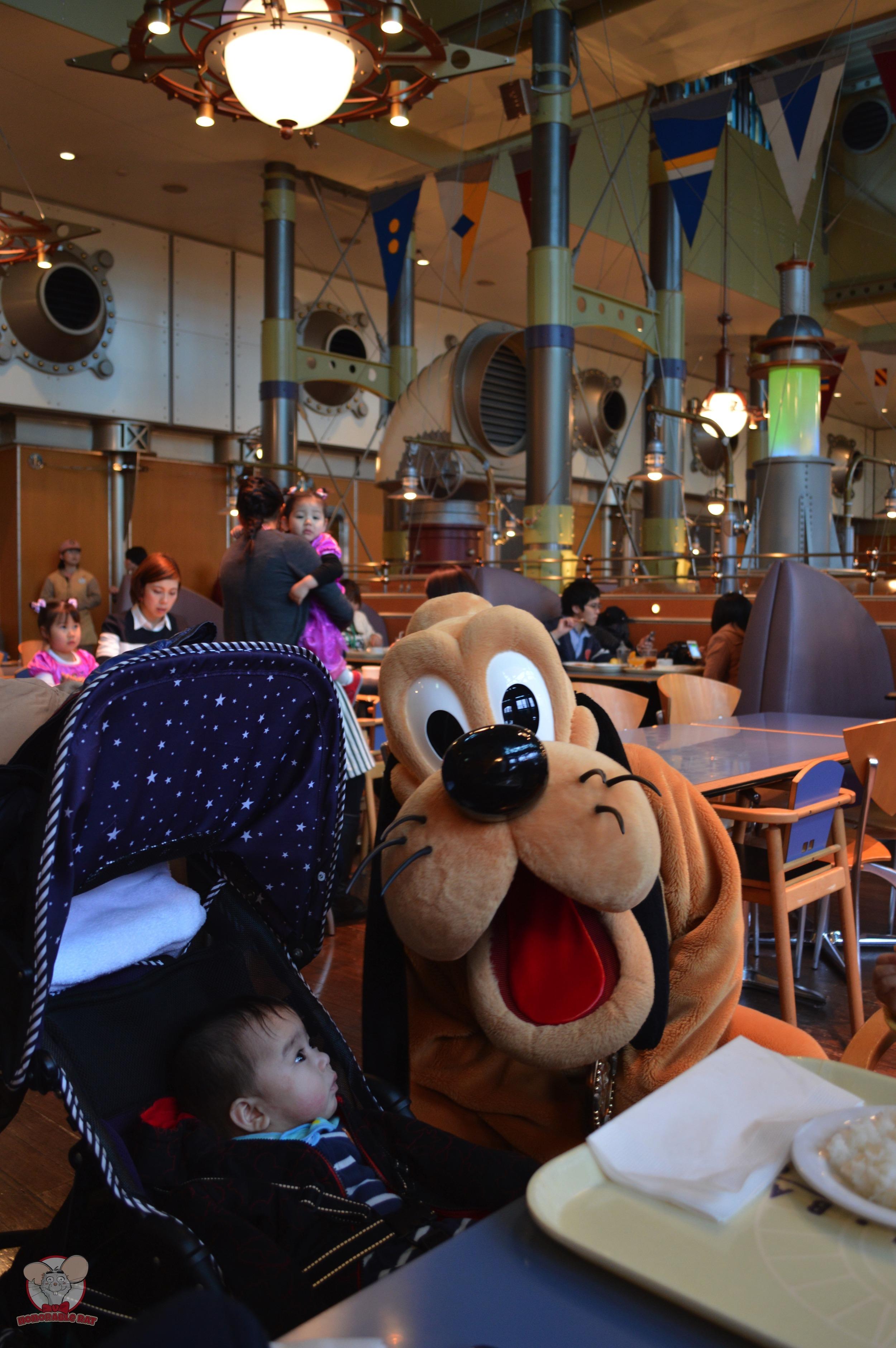 Baby Haku with Pluto