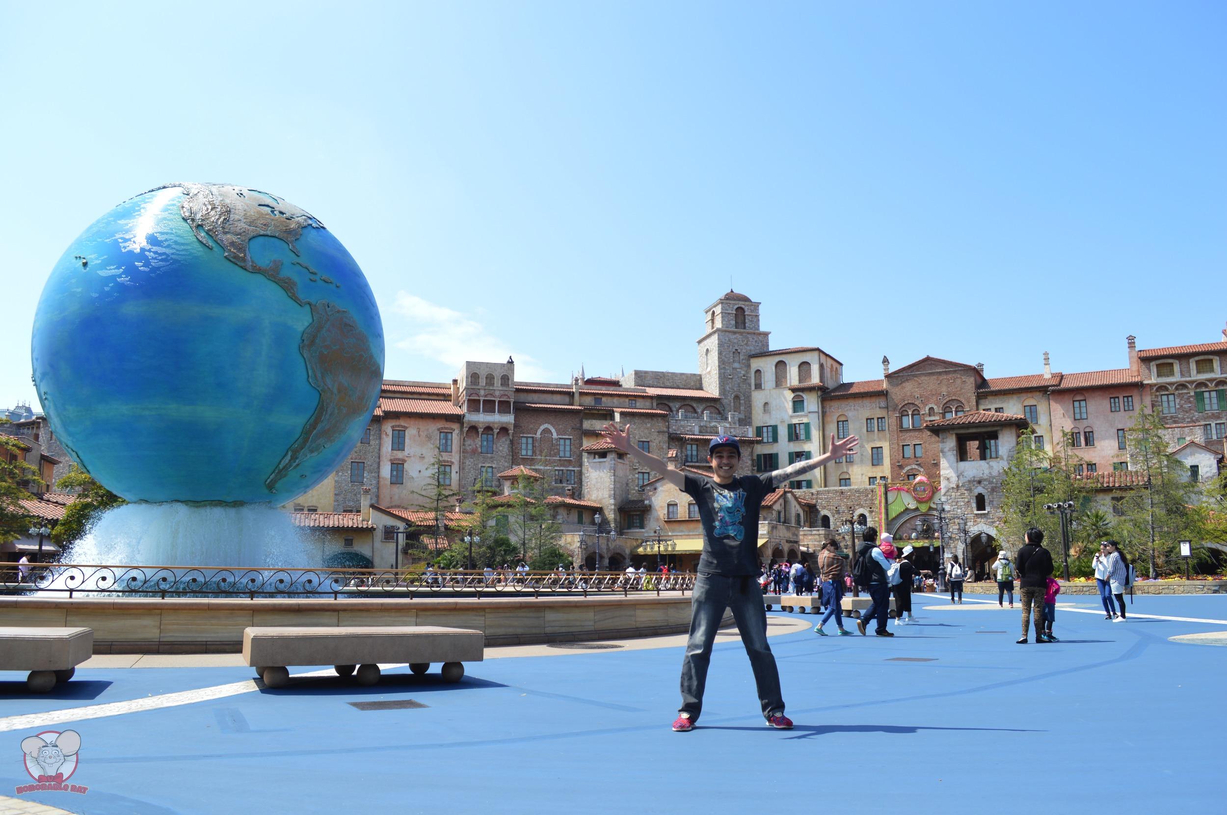 Aquasphere in Tokyo Disneysea