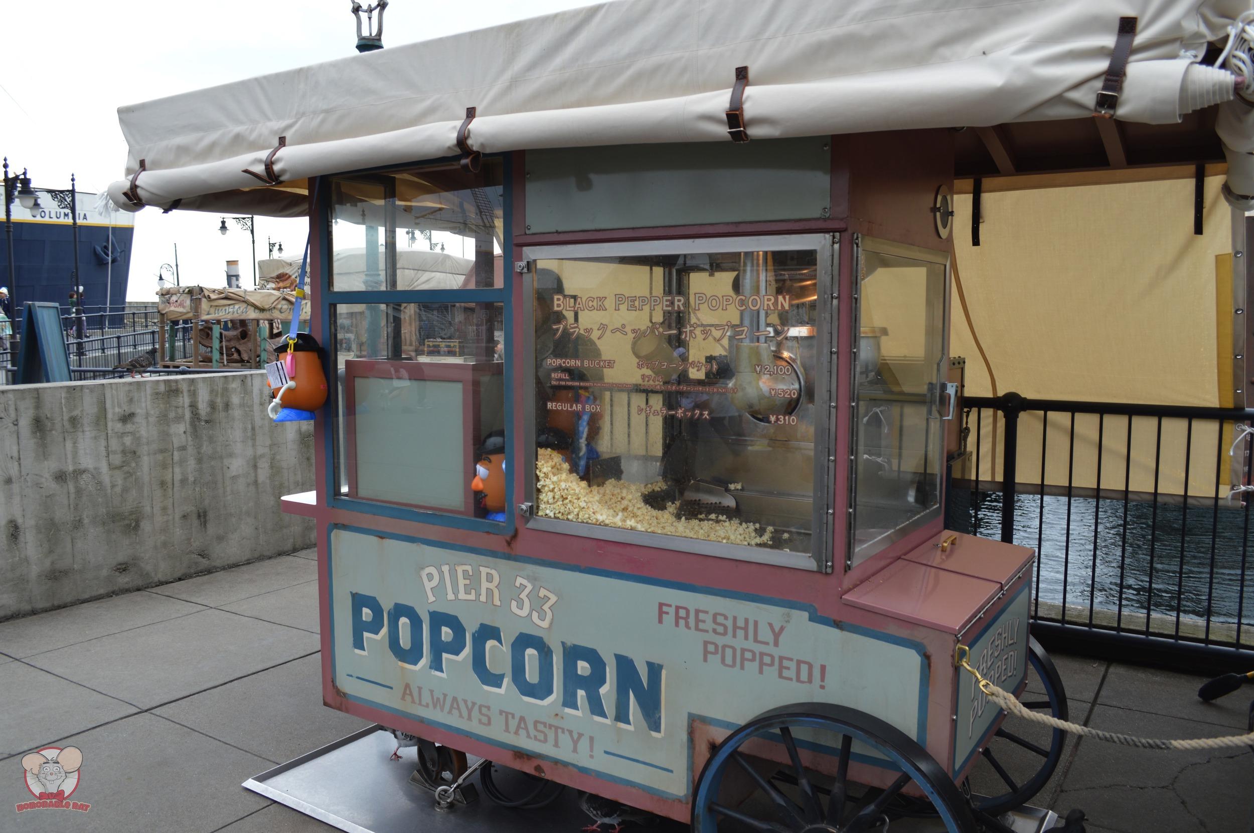 Black Pepper Popcorn Cart