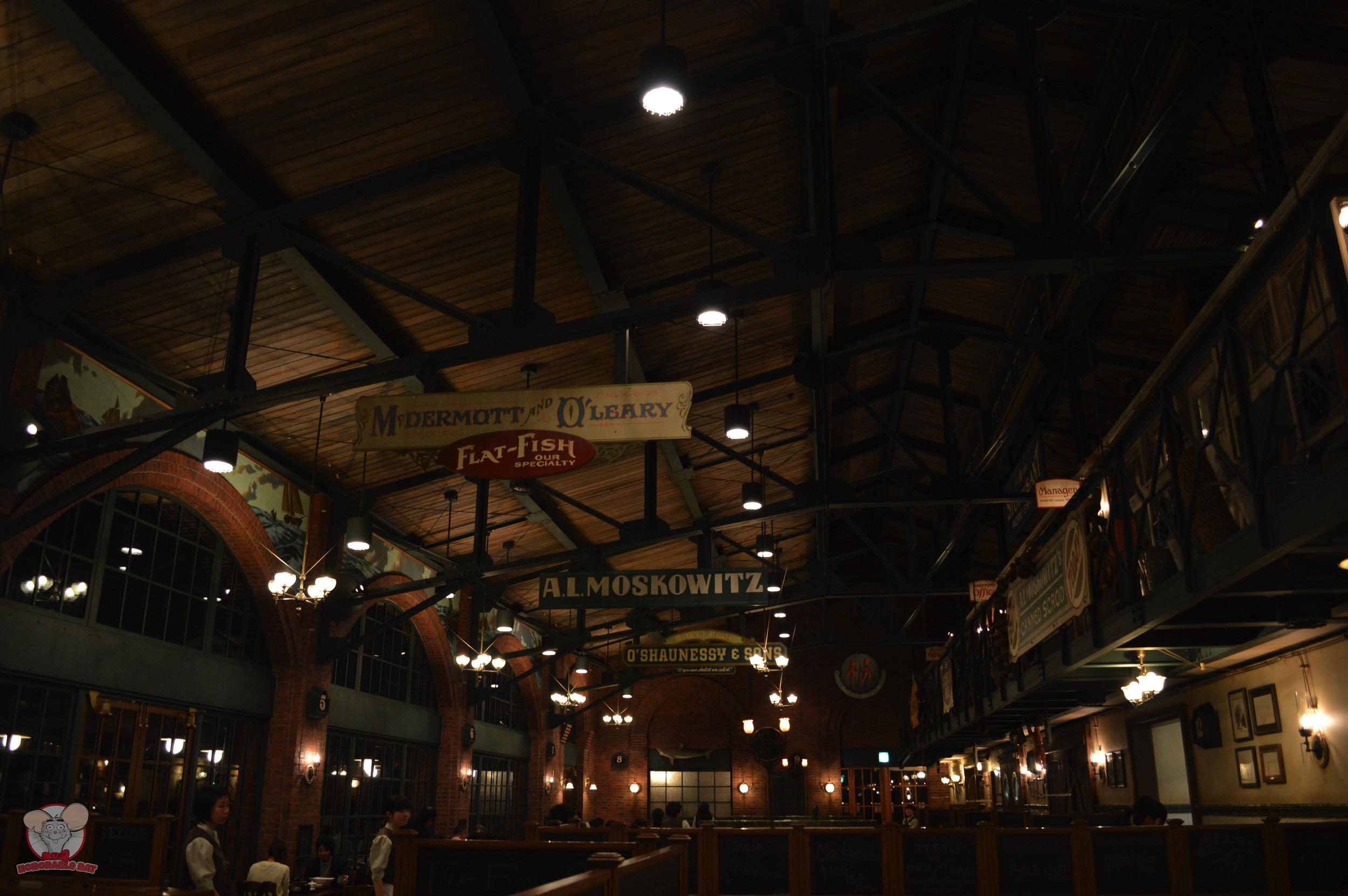 Inside Restaurant Sakura
