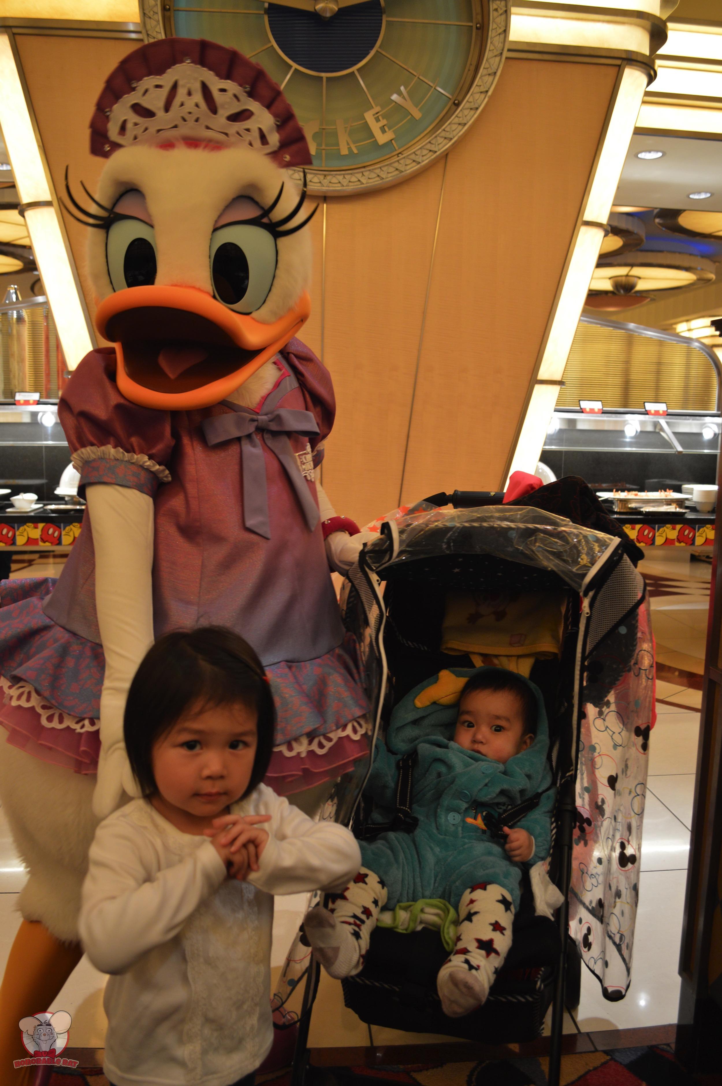 Daisy with Little Mahina and Baby Haku