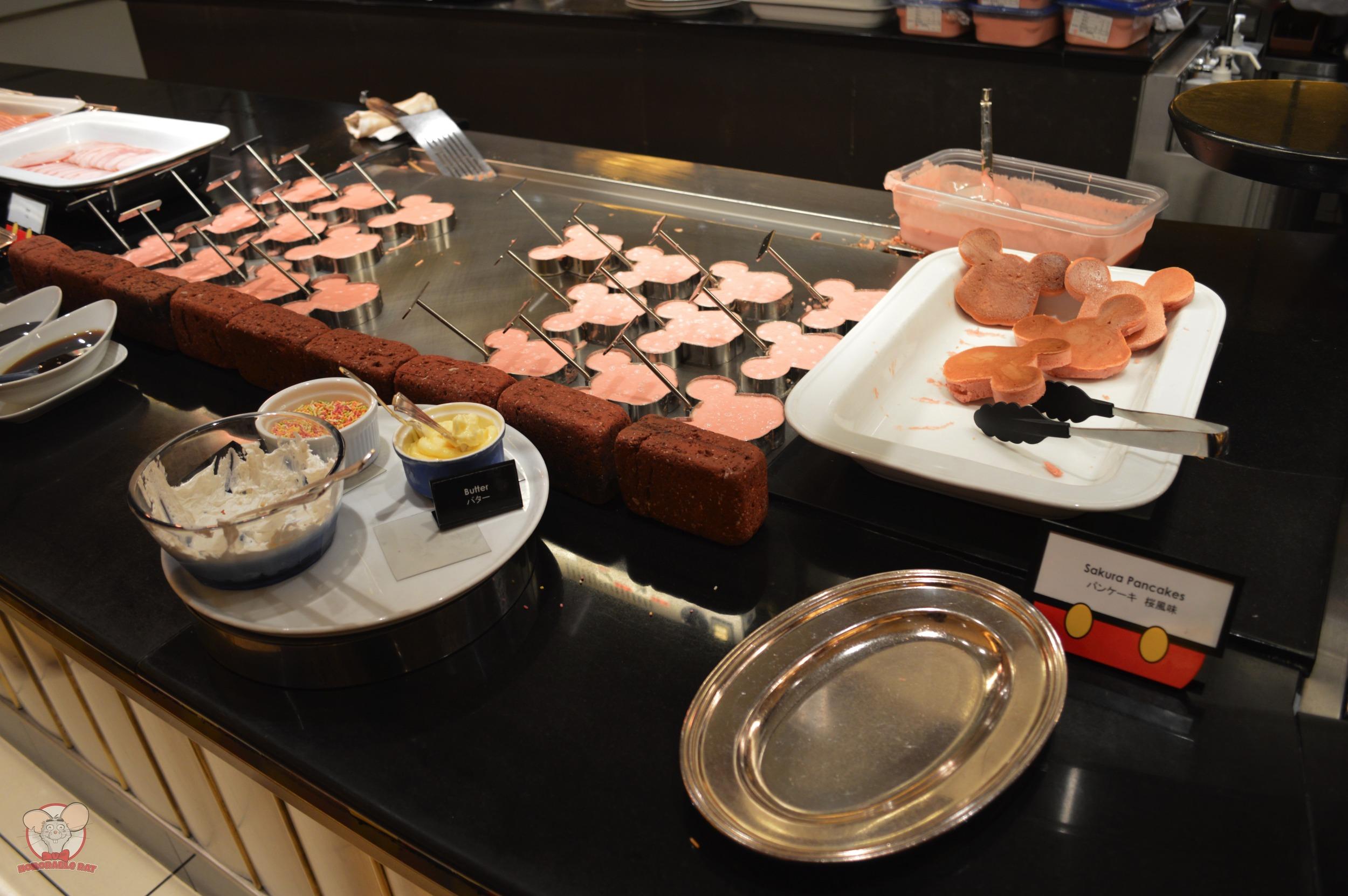 Sakura Mickey Pancakes