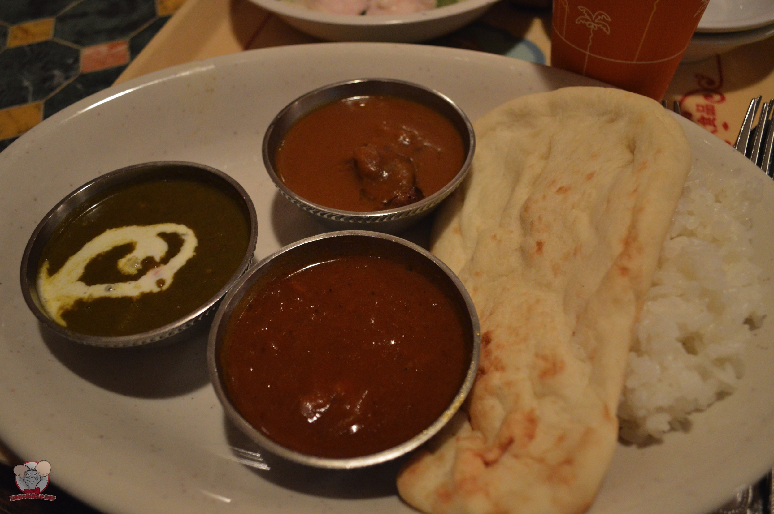 Curry Sampler