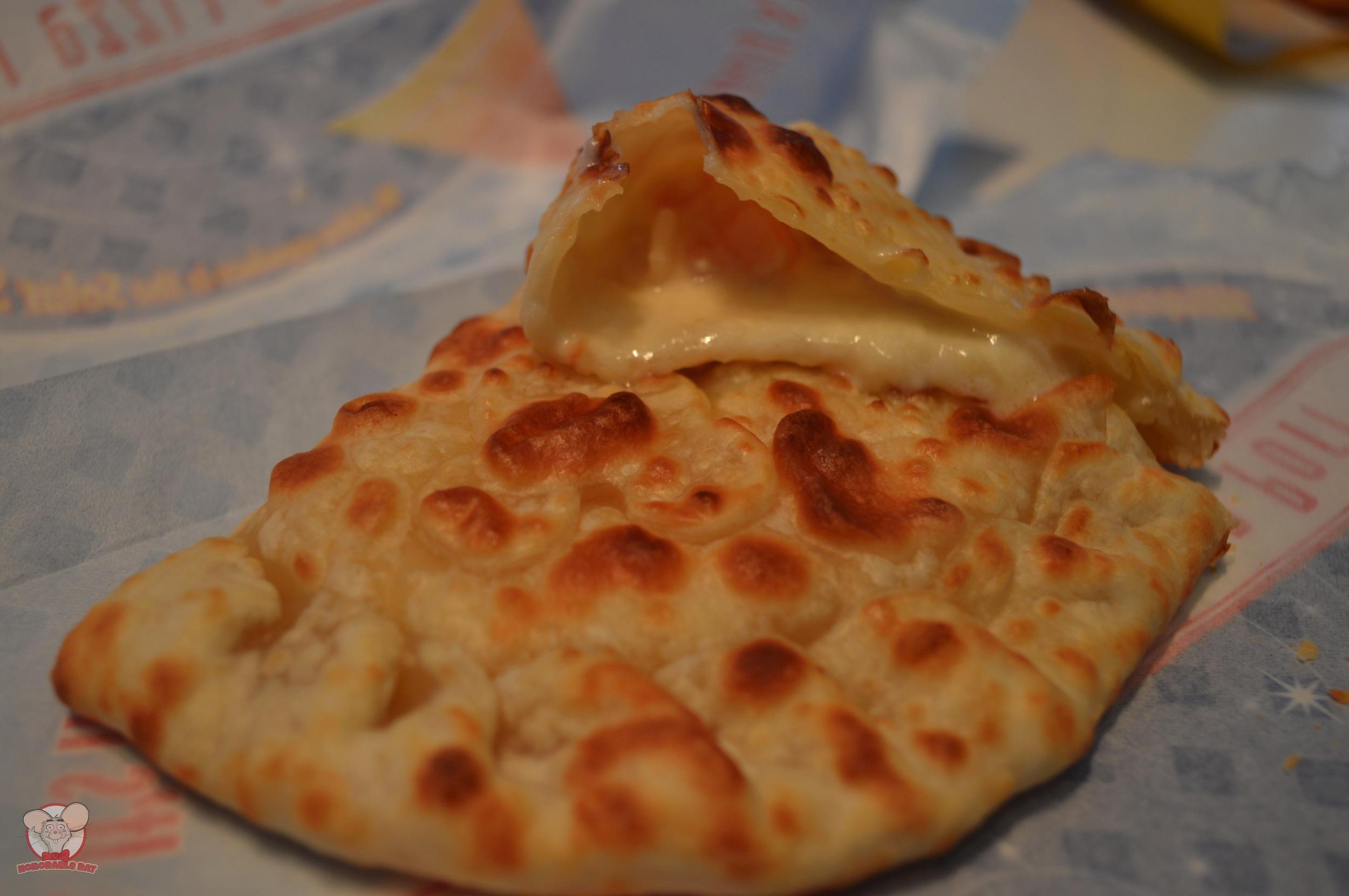 Seafood Cream Calzone