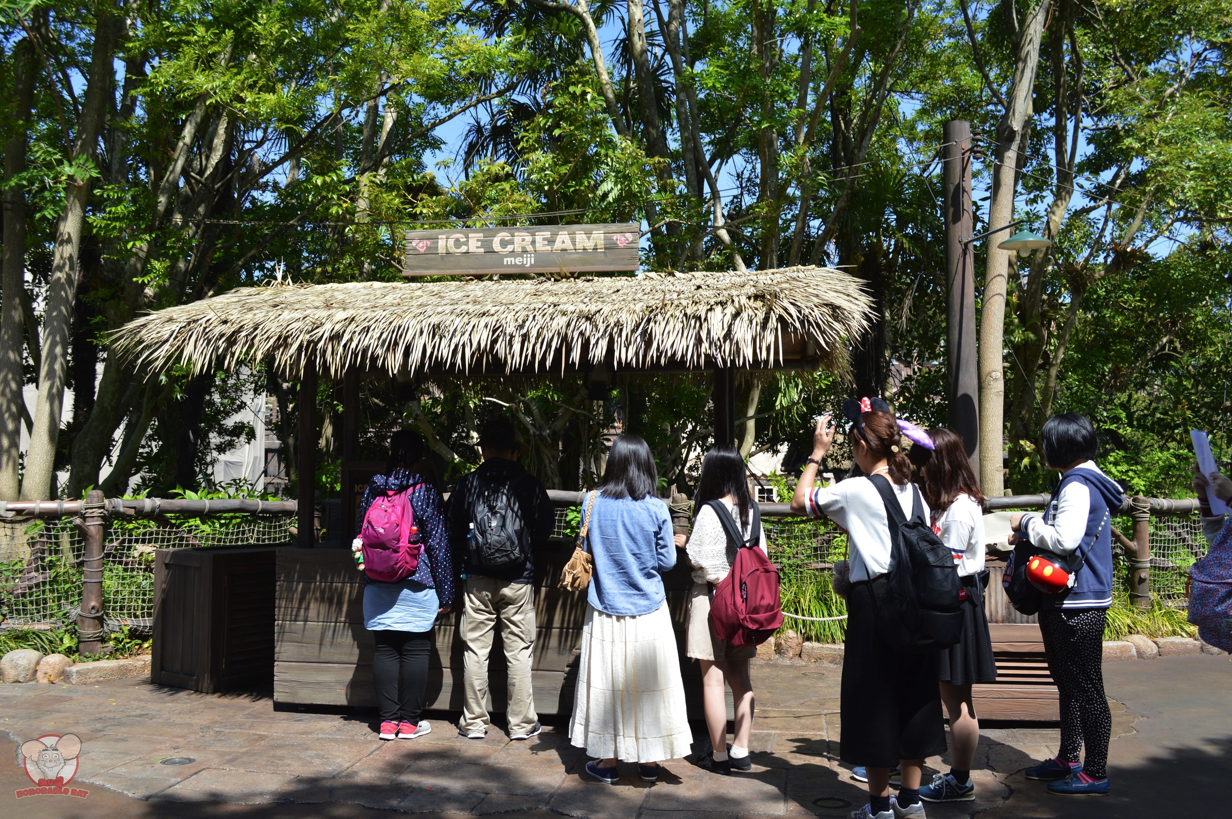 Ice Cream Stand in Tokyo Disneysea