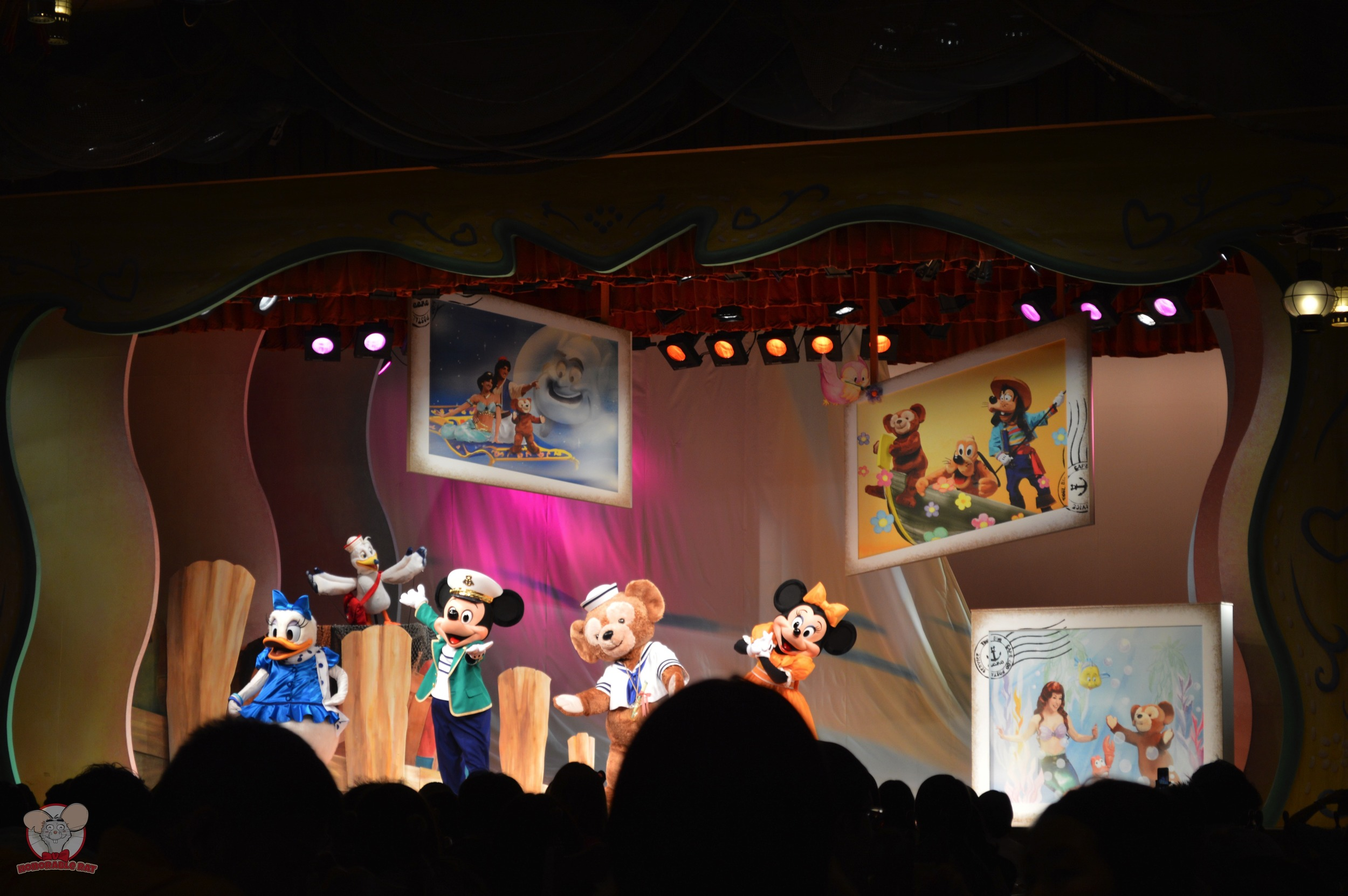 More Disney characters up on stage