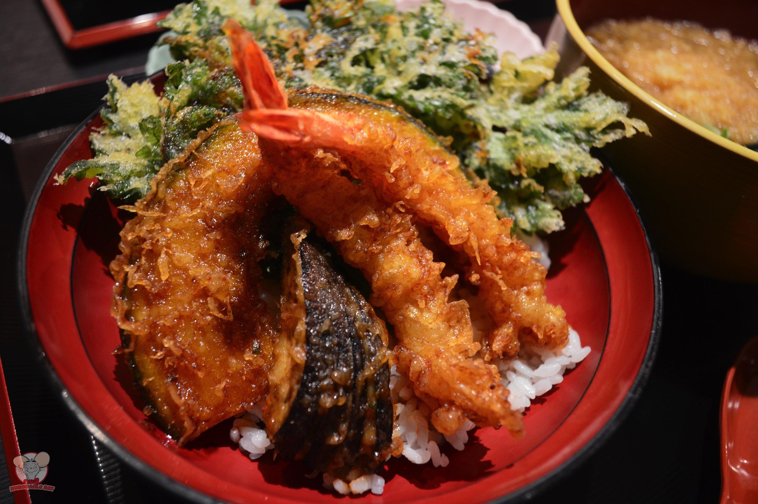 Tempura with Rice