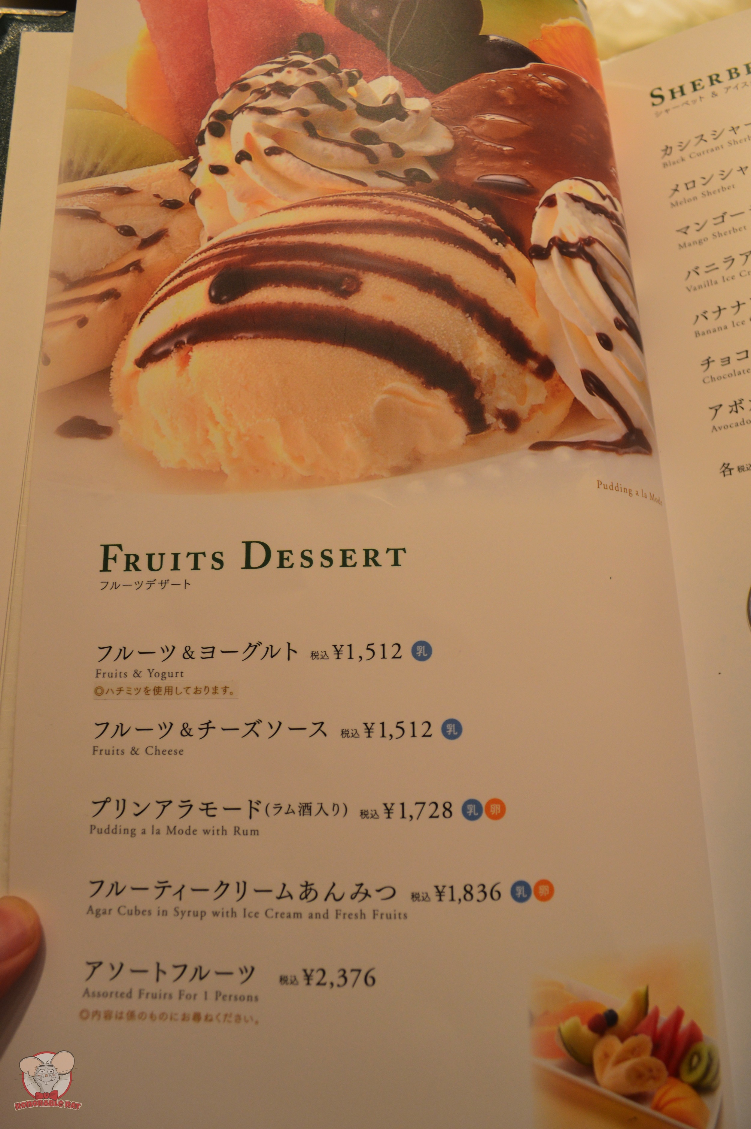 Fruits Dessert Page 1