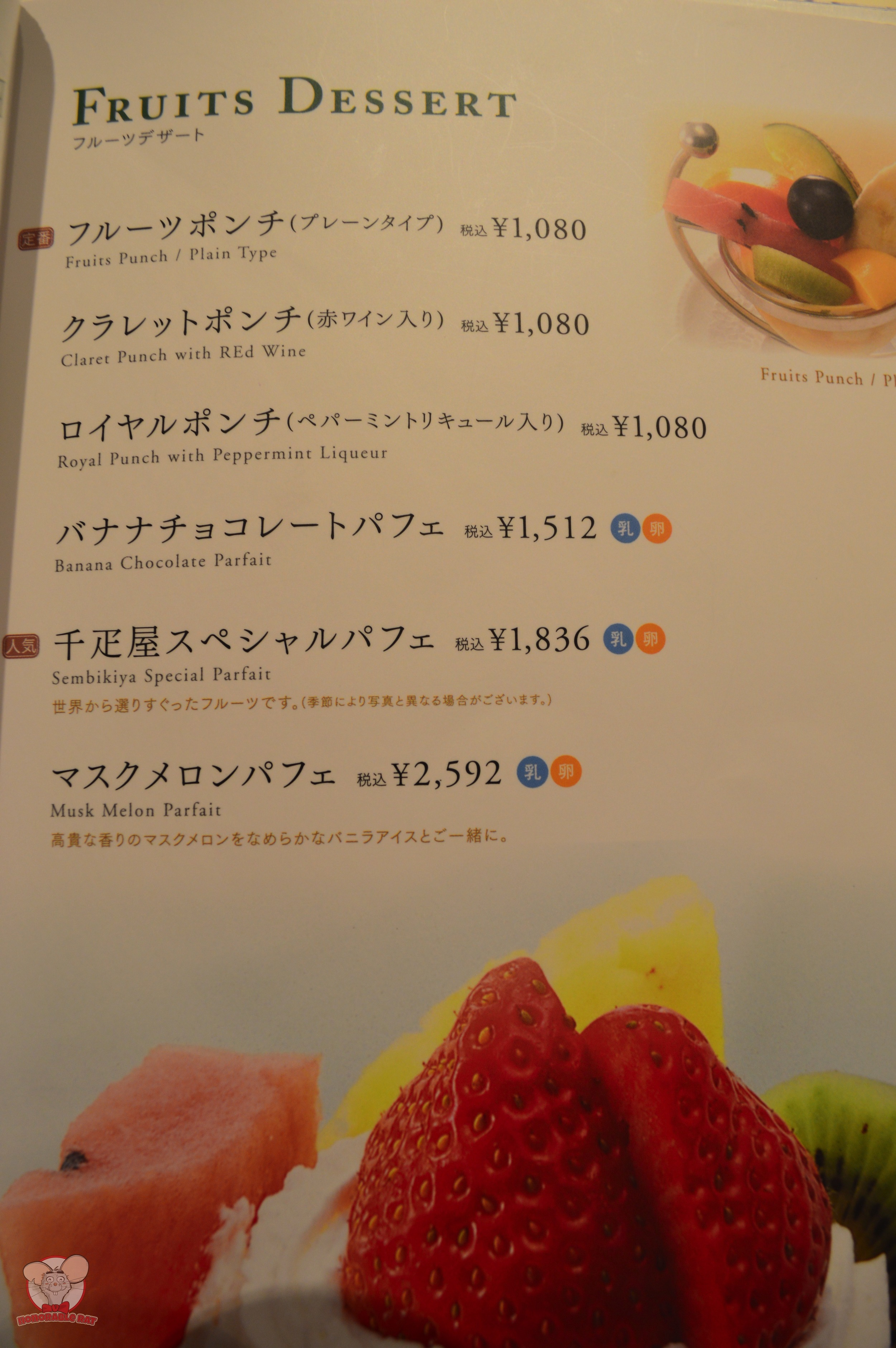 Fruits Dessert Page 2