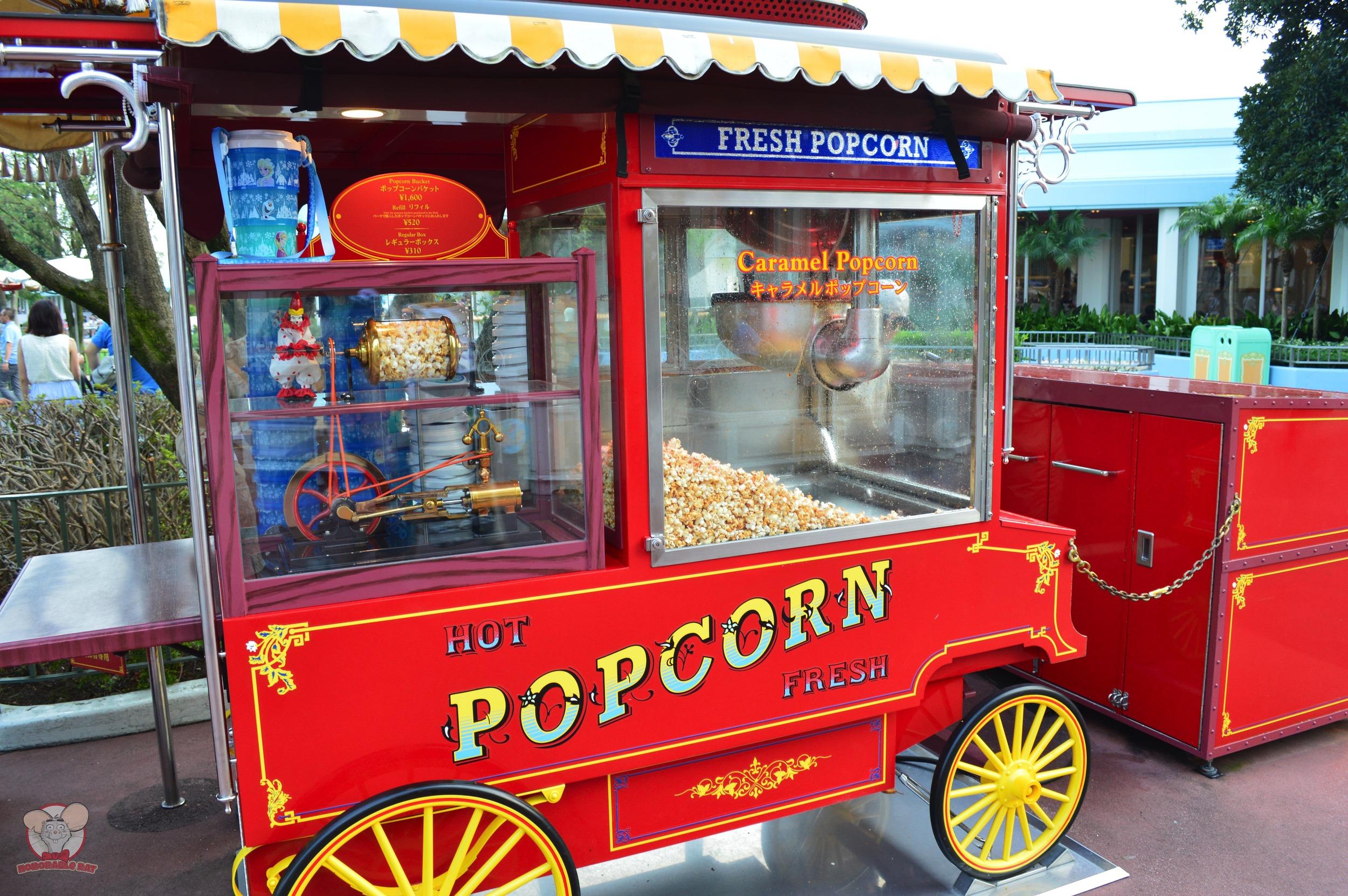 Caramel Popcorn Cart