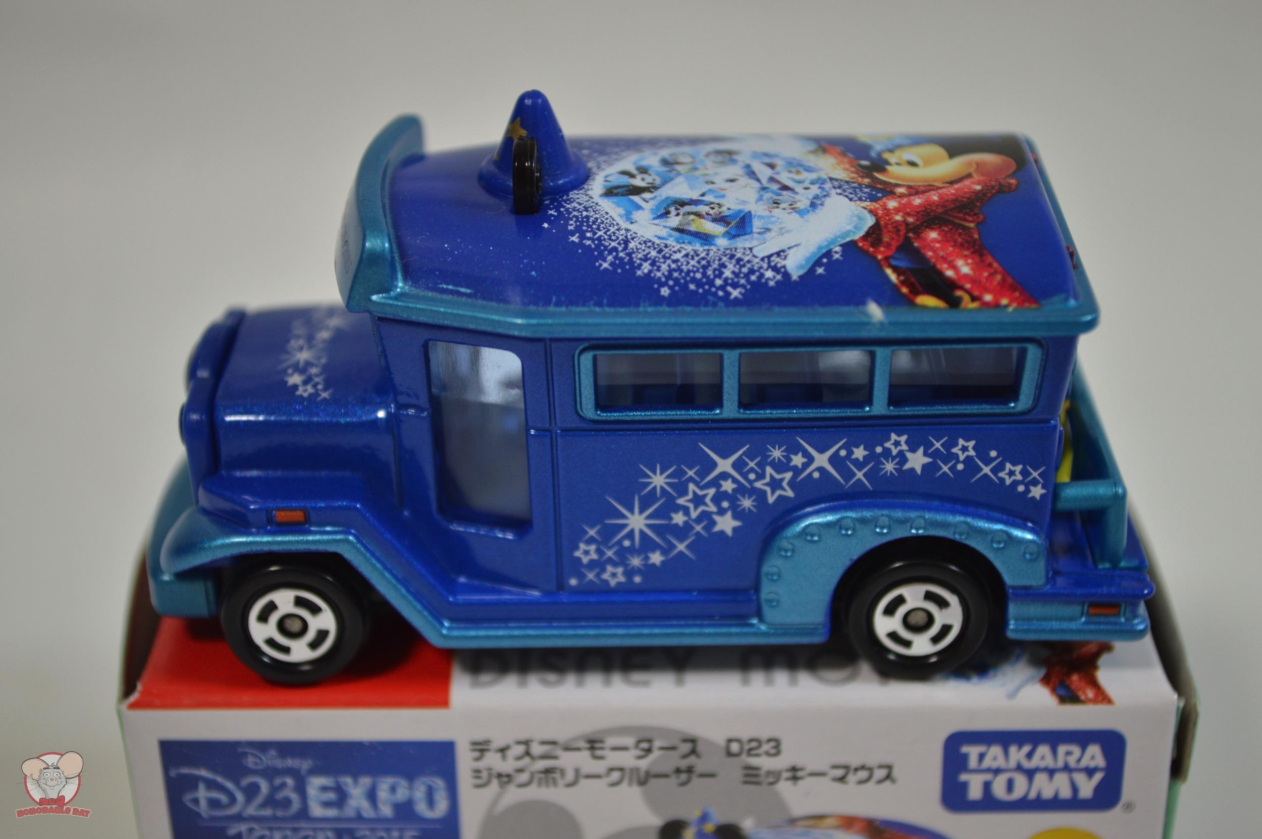 D23 Expo Japan 2015 Takara Tomy Fantasia Bus
