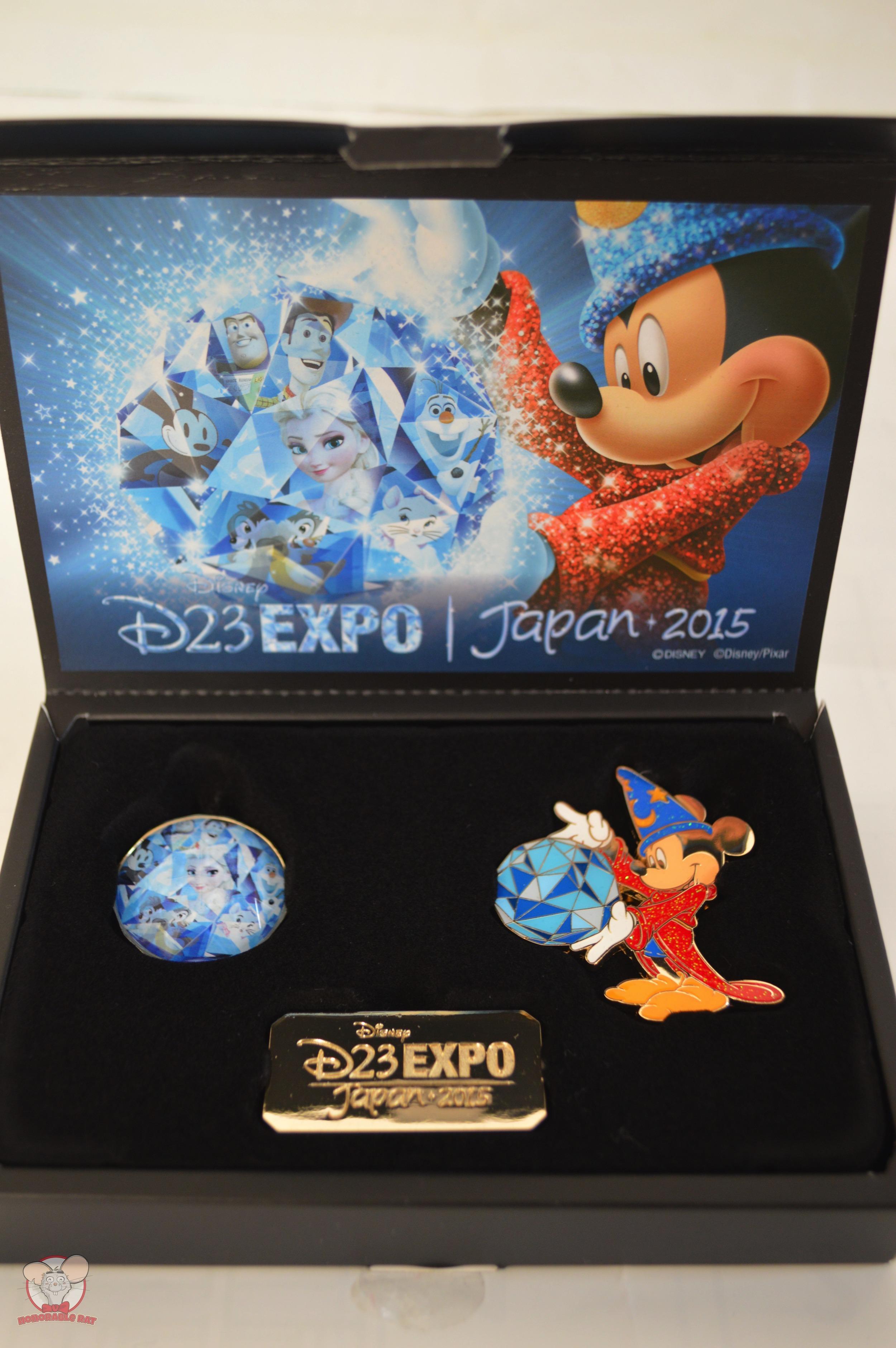 D23 Expo Japan 2015 Collectors Pin Set