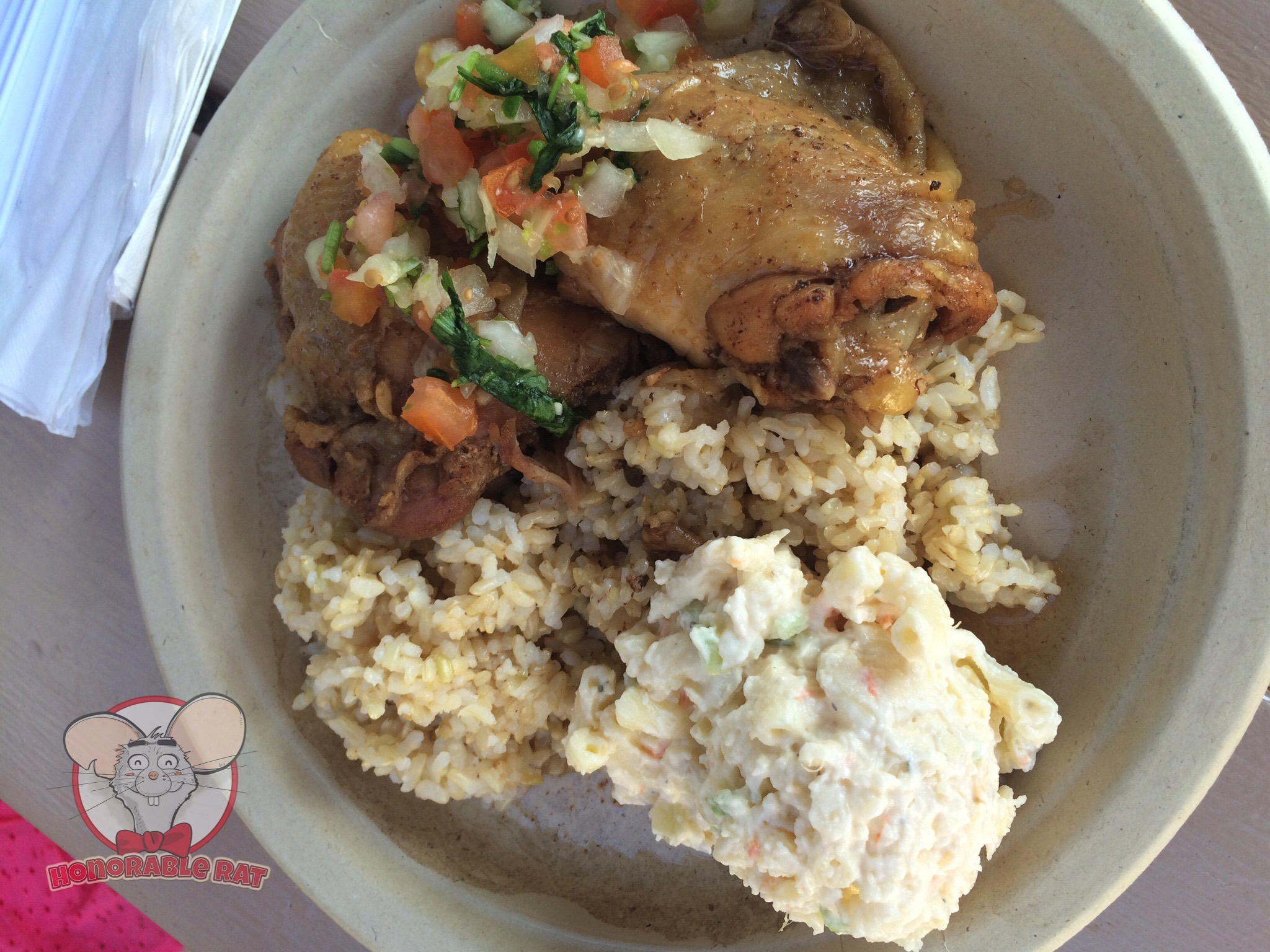 Shoyu Teri Chicken Plate Lunch
