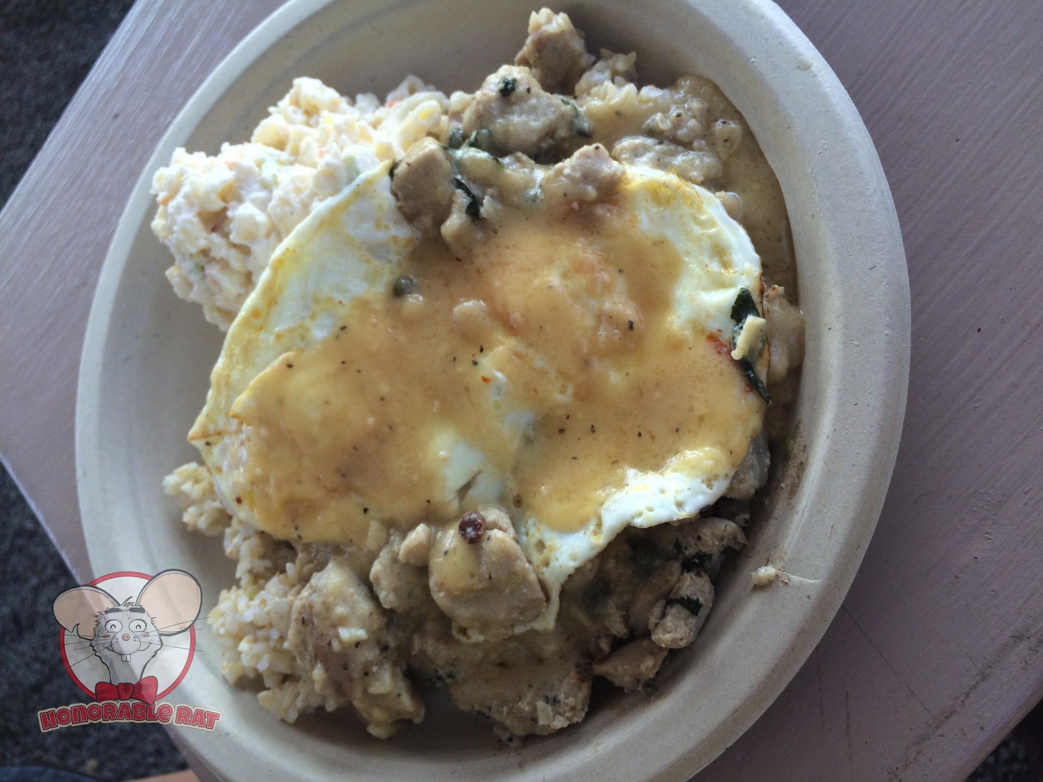 Ahi Loco Moco Plate Lunch