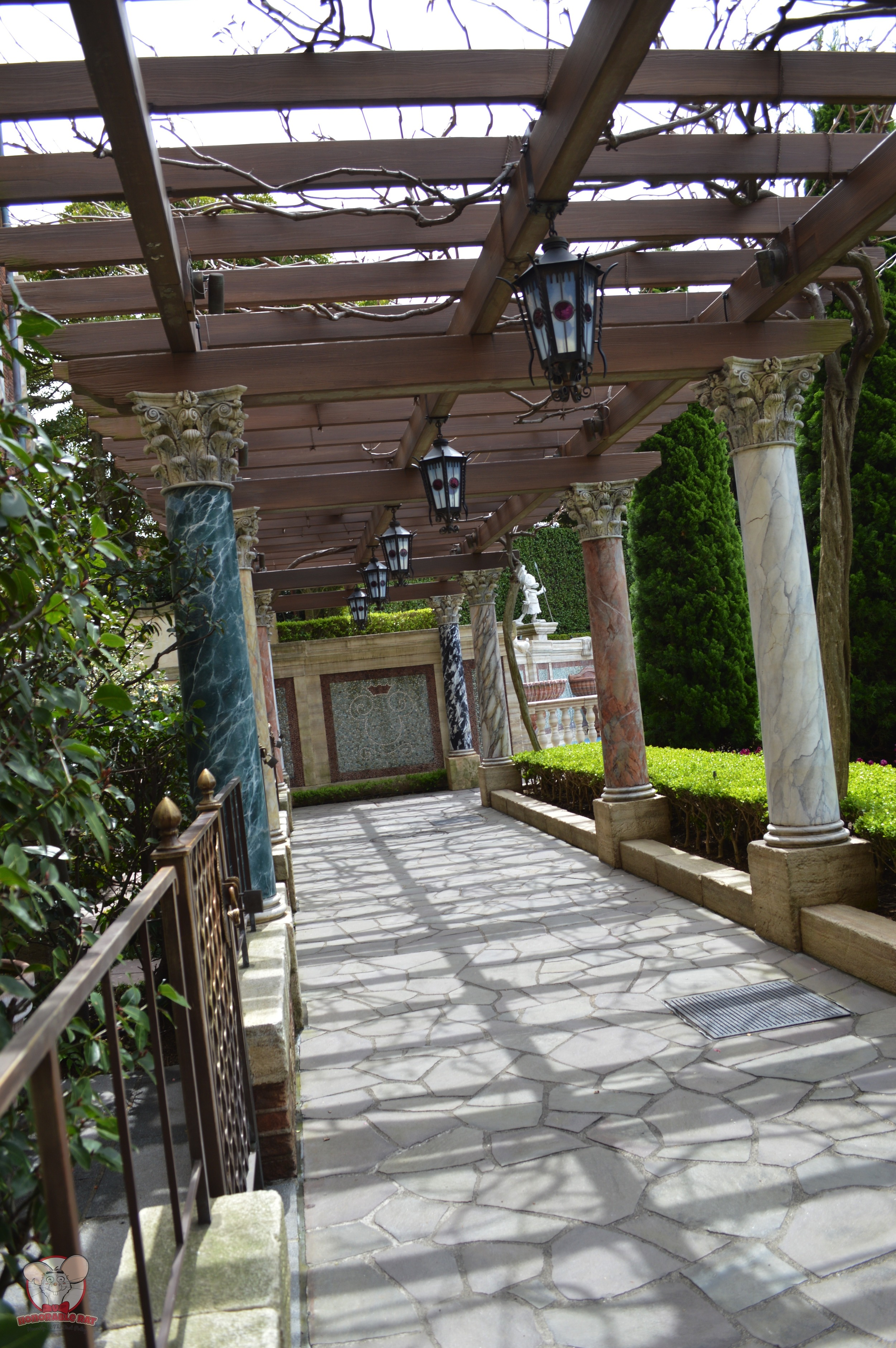 Another look at the walkway