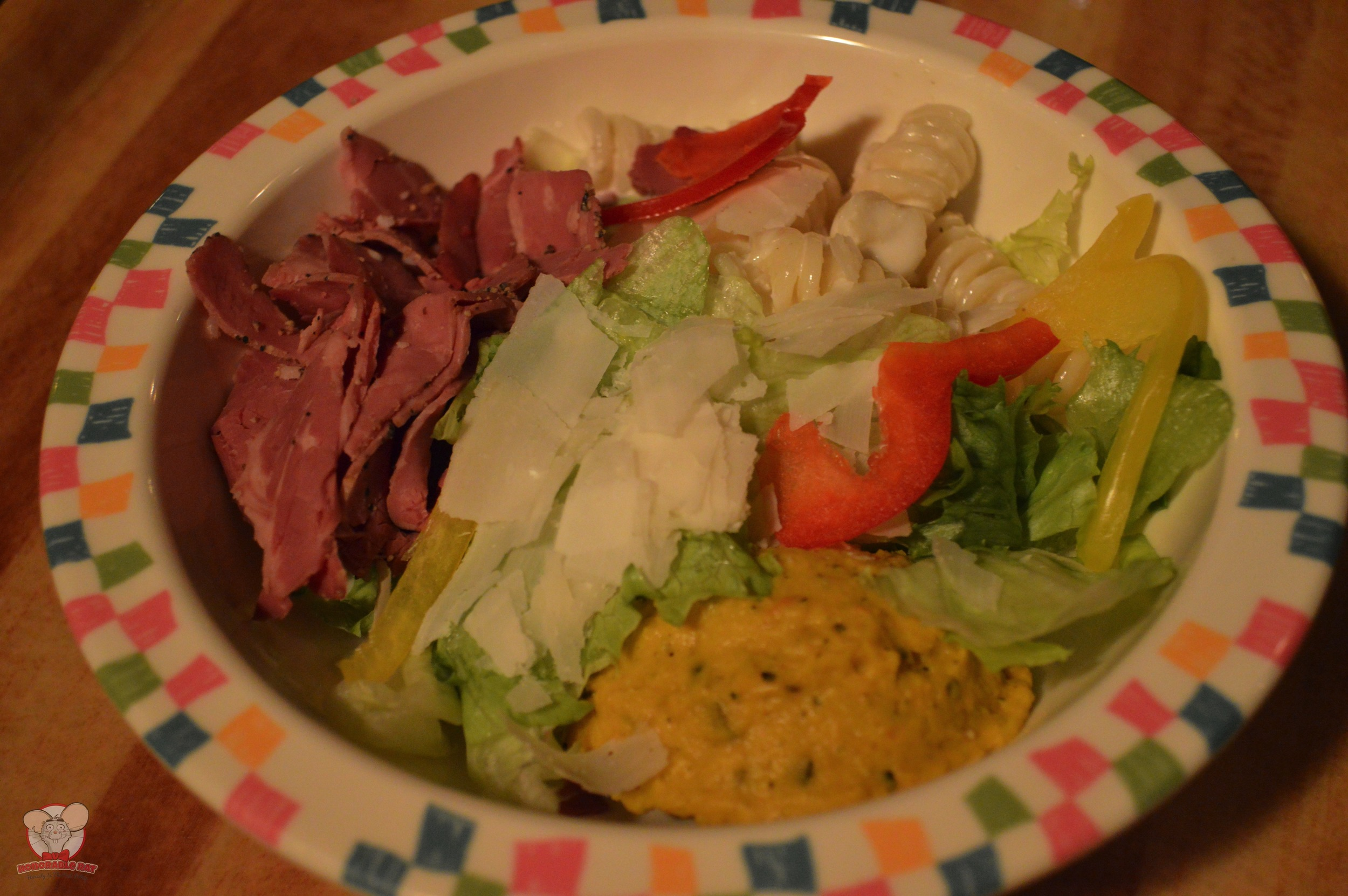 Beef Pastrami and Pumpkin Salad