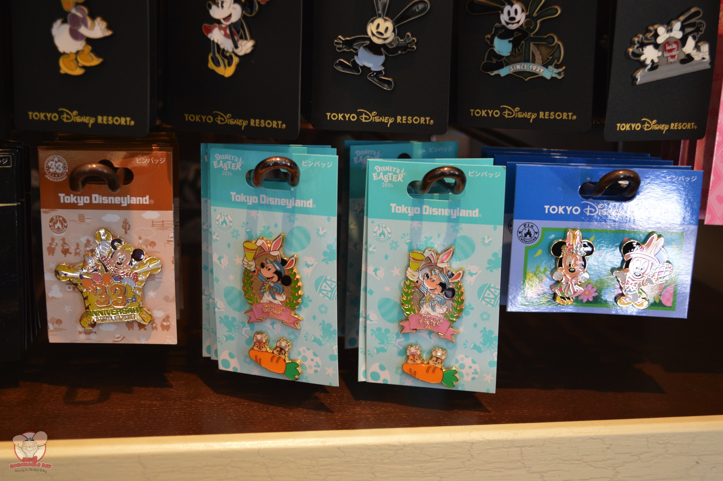 Easter 2016 and Tokyo Disneyland 33rd Anniversary Pin