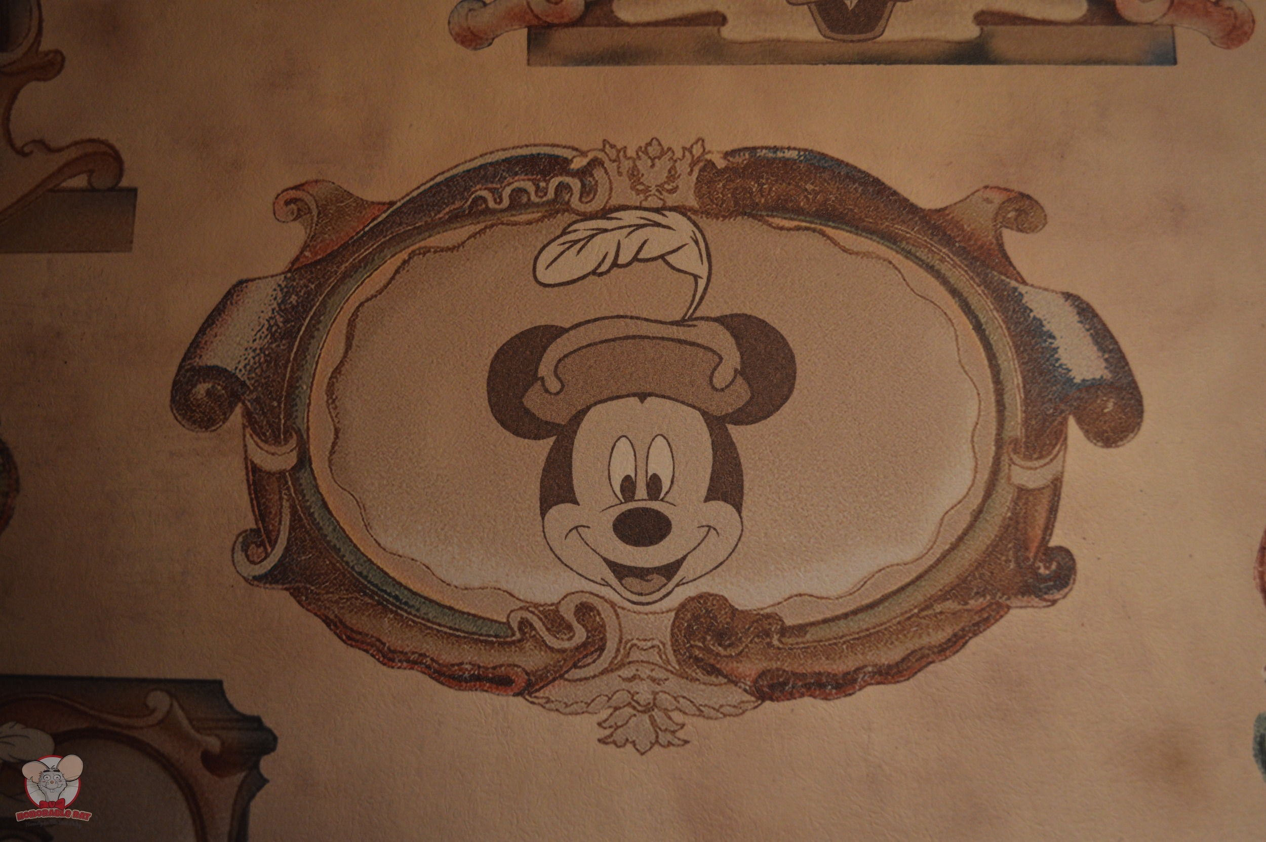 Mickey Mural (Pantry Area)