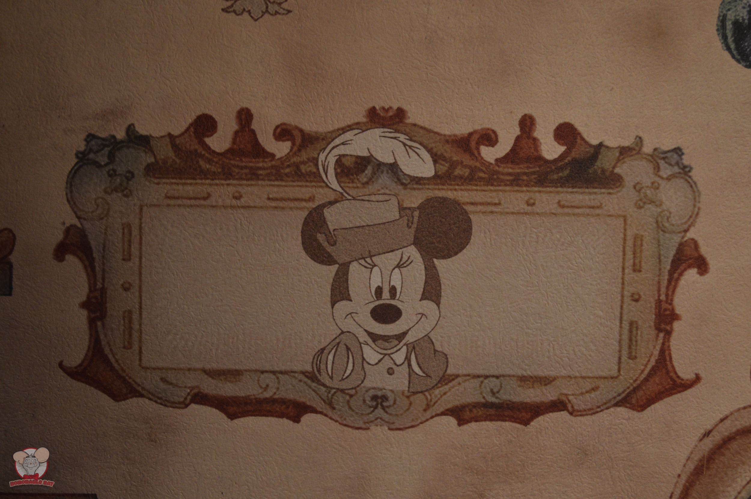 Minnie Mural (Pantry Area)