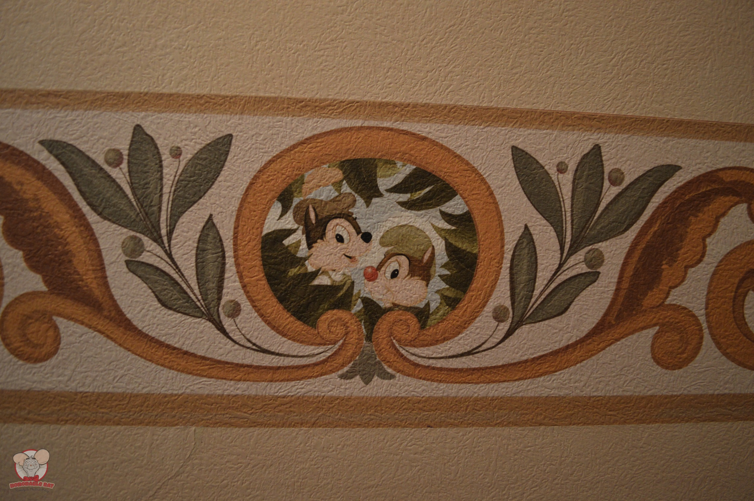 Chip & Dale Mural (Bedding Area)