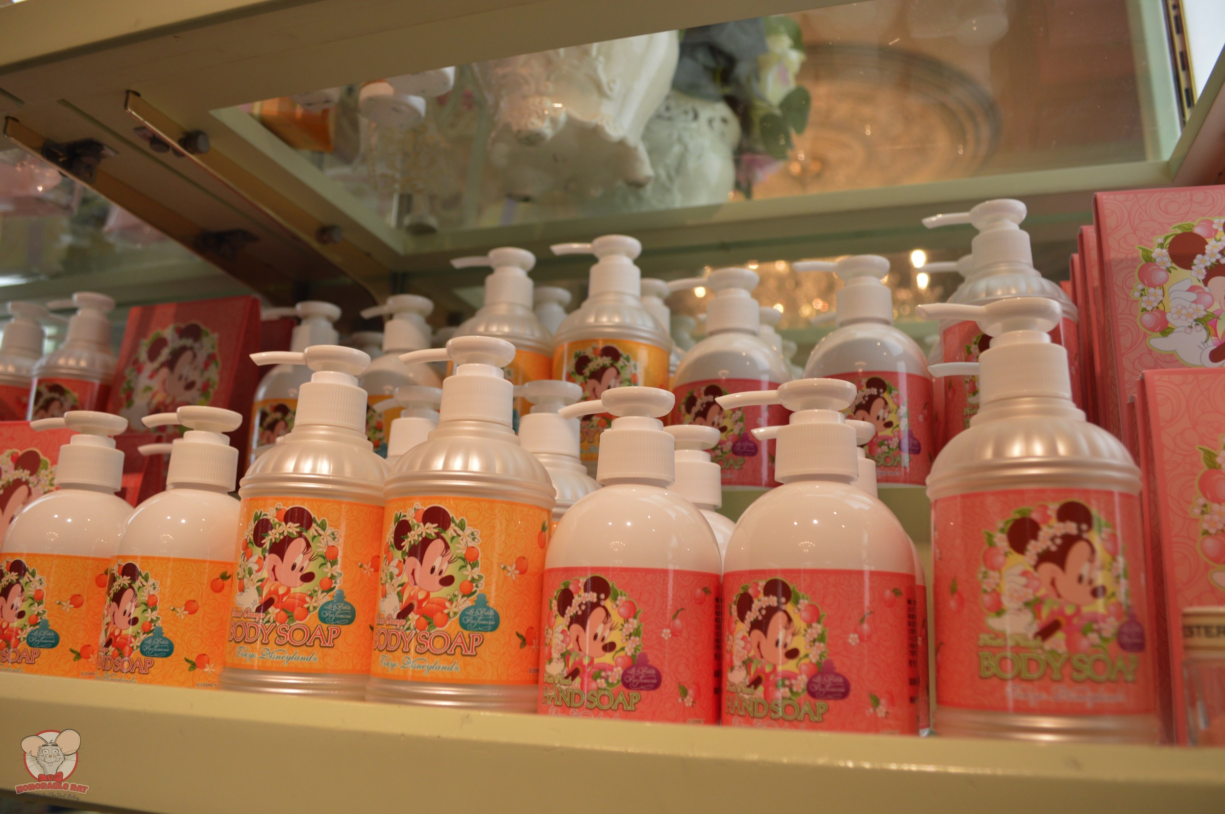 Body and Hand Soap for 1,230 yen and 820 yen respectively