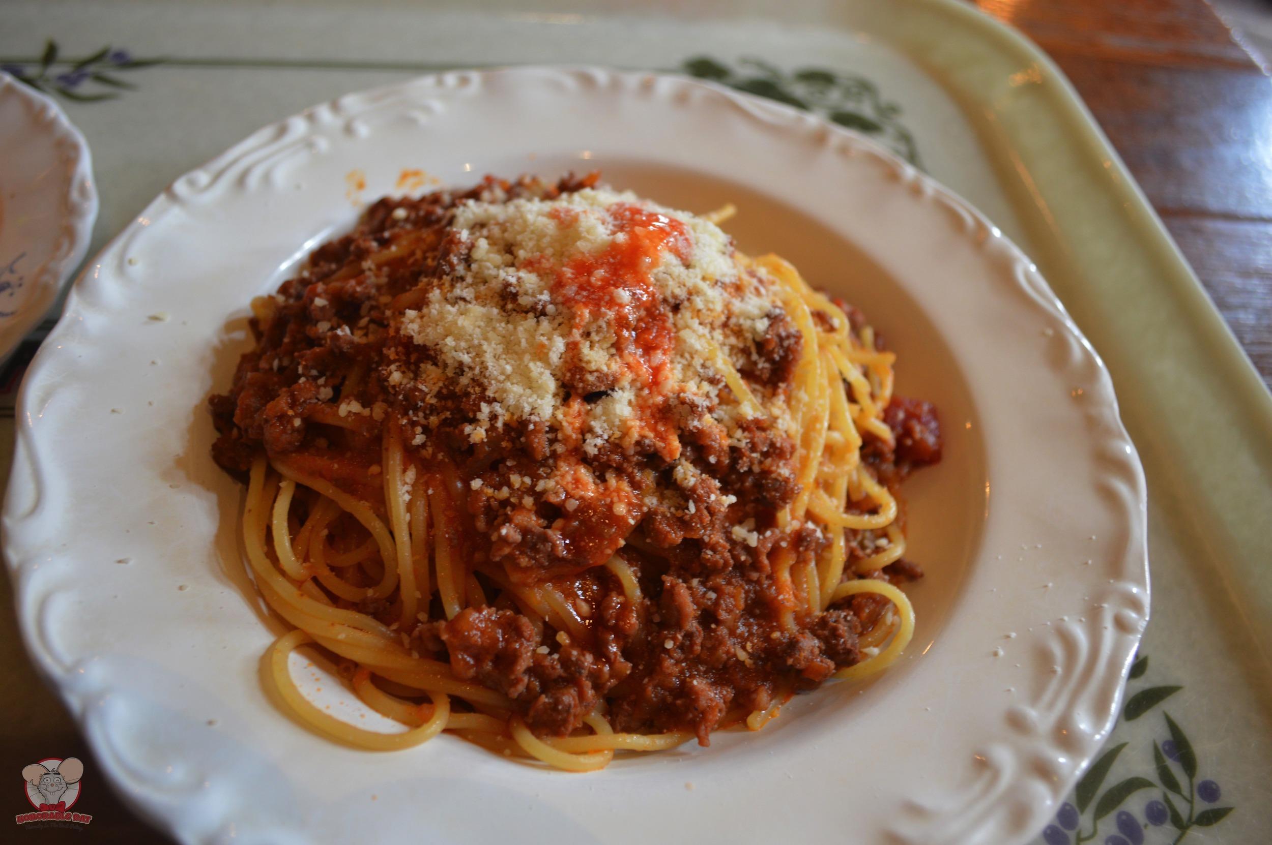 Spaghetti Bolognese Honorablo Ratto