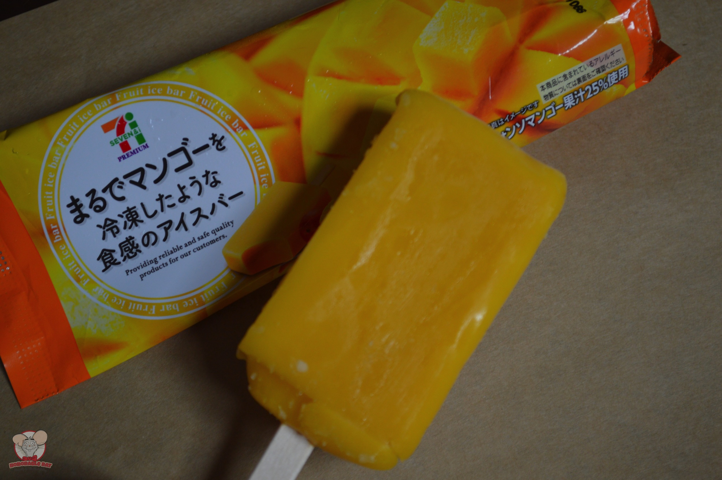 Mango Popsicle from 7-Eleven