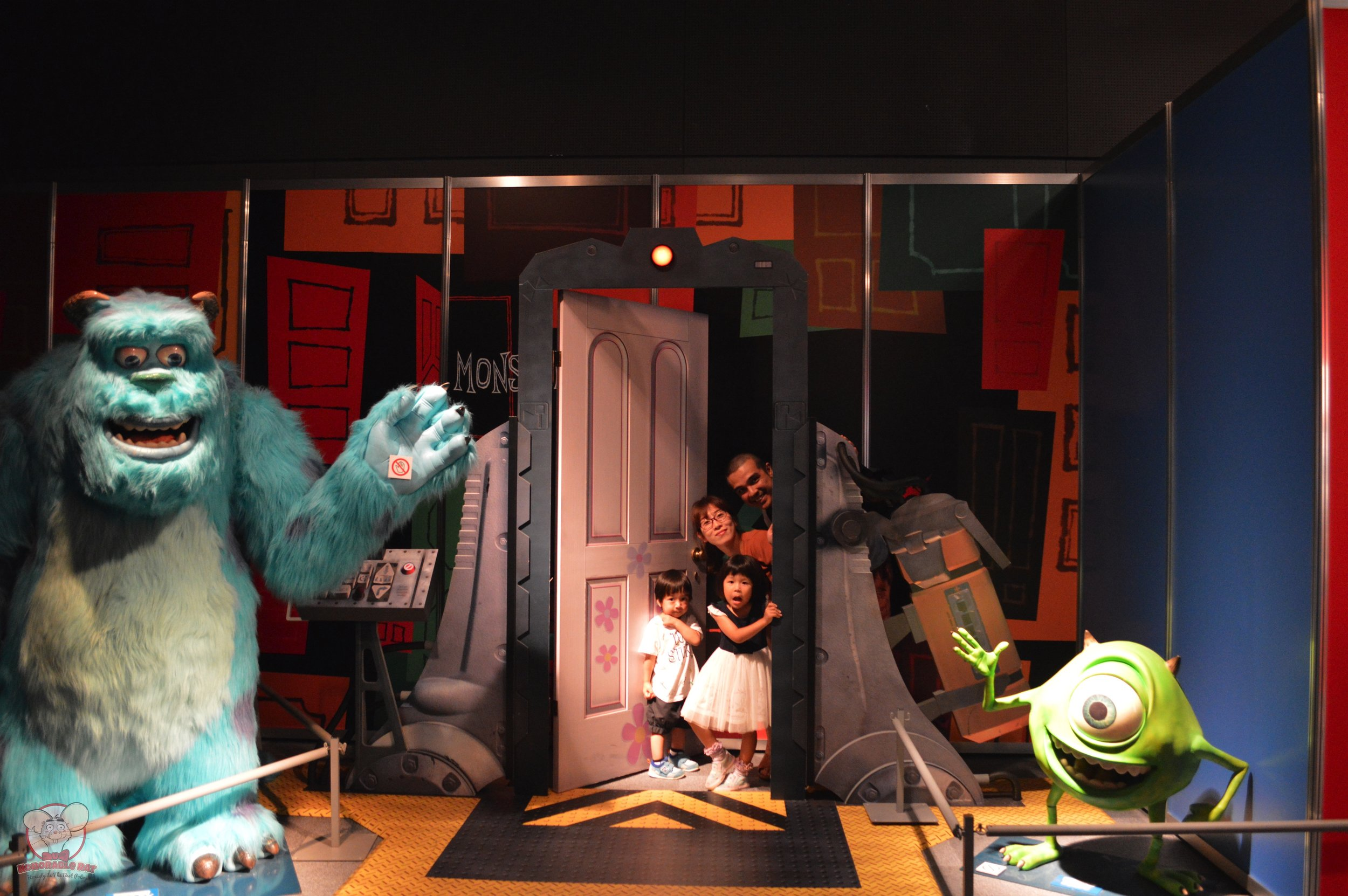 Monsters, Inc family photo