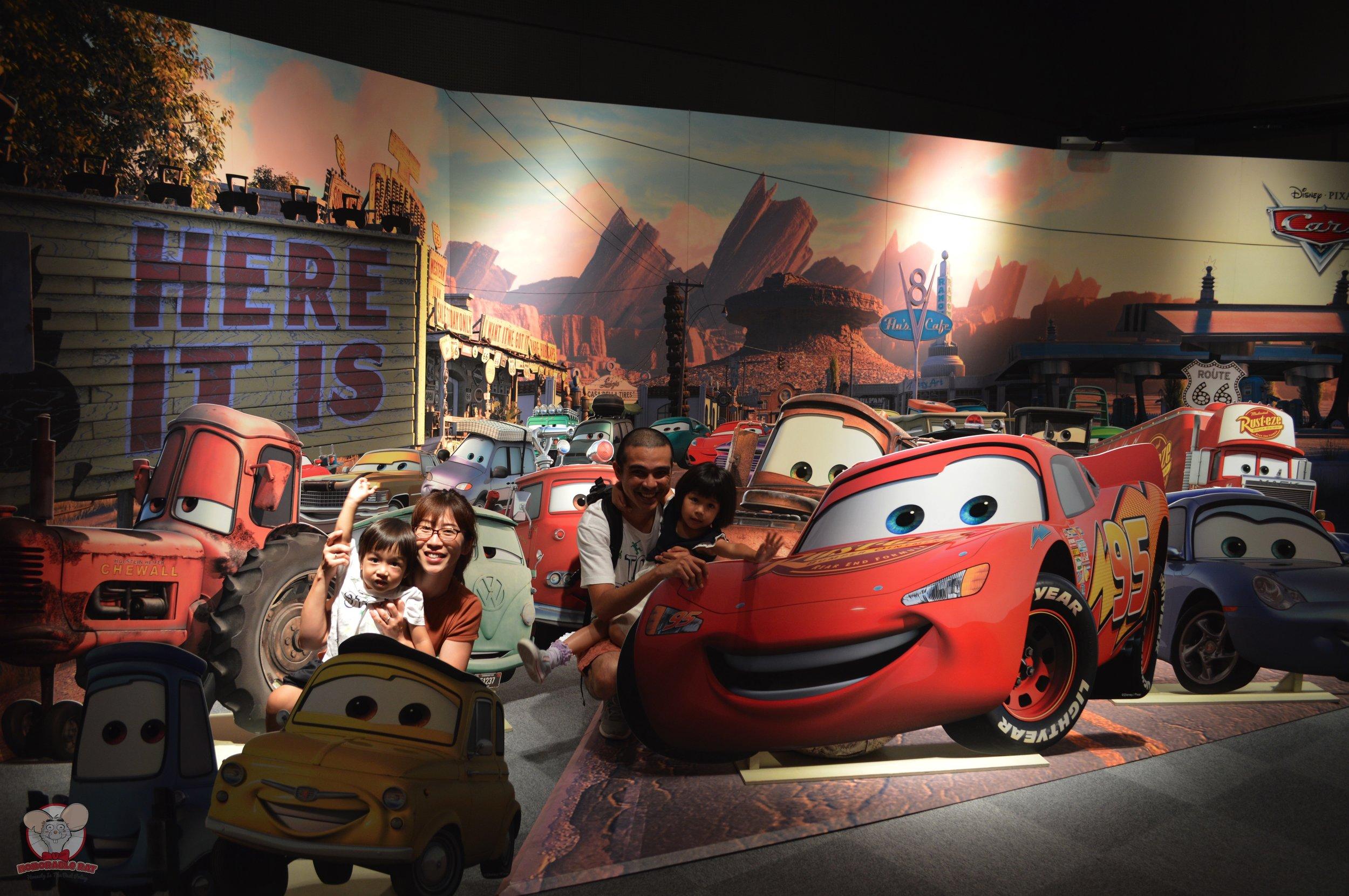 Cars family photo