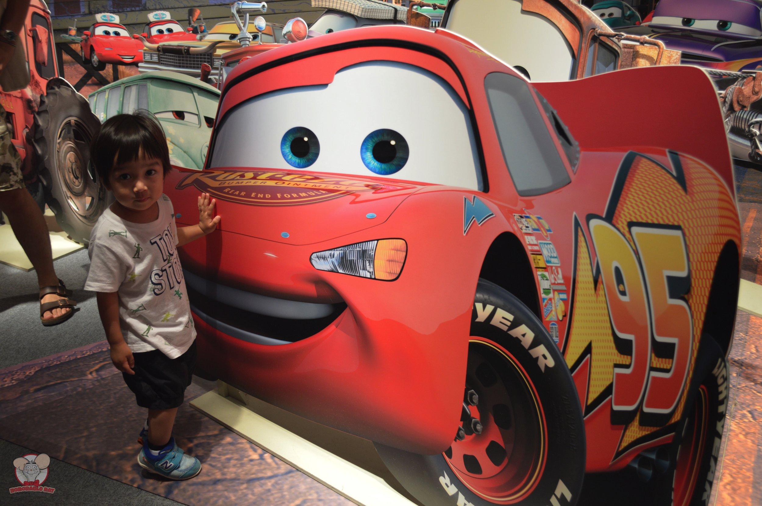 Haku with Lightning McQueen
